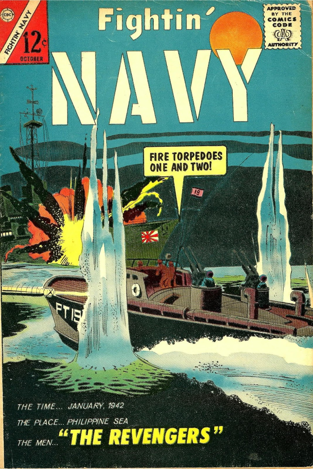 Read online Fightin' Navy comic -  Issue #117 - 1