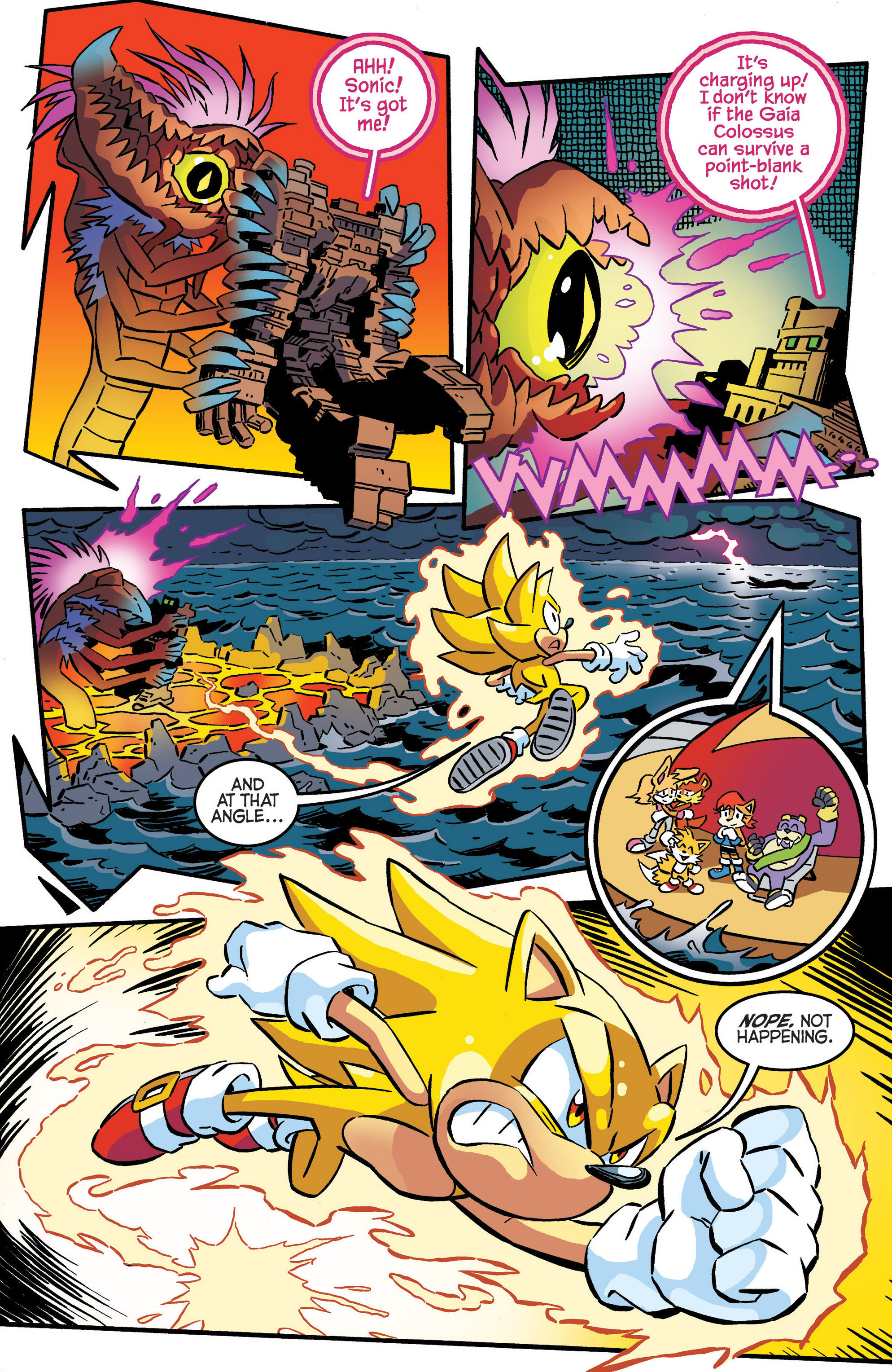 Read online Sonic The Hedgehog comic -  Issue #287 - 10