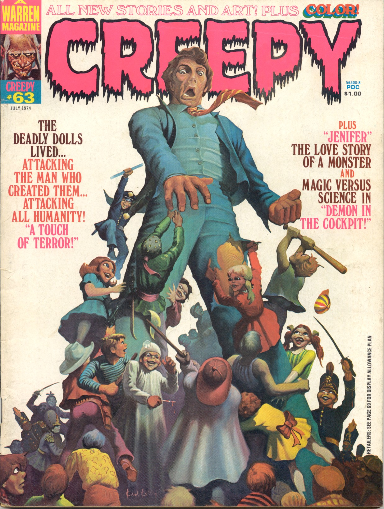 Creepy (1964) 63 Page 1