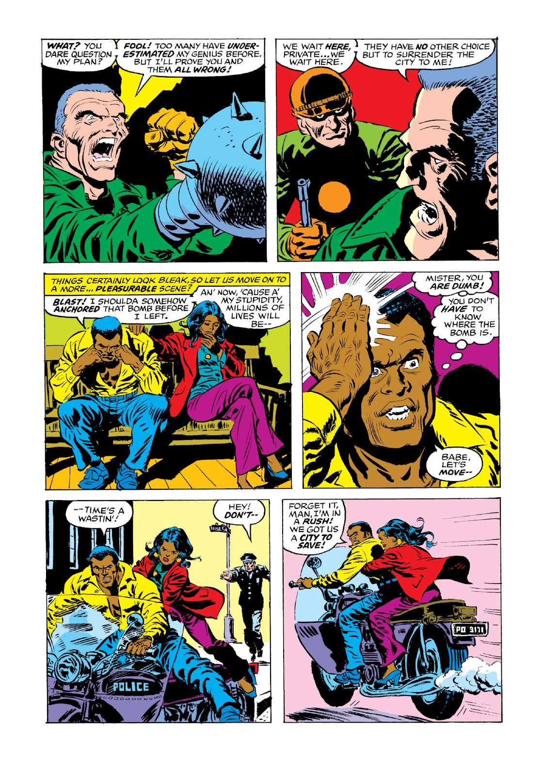 Read online Marvel Masterworks: Luke Cage, Power Man comic -  Issue # TPB 3 (Part 3) - 73