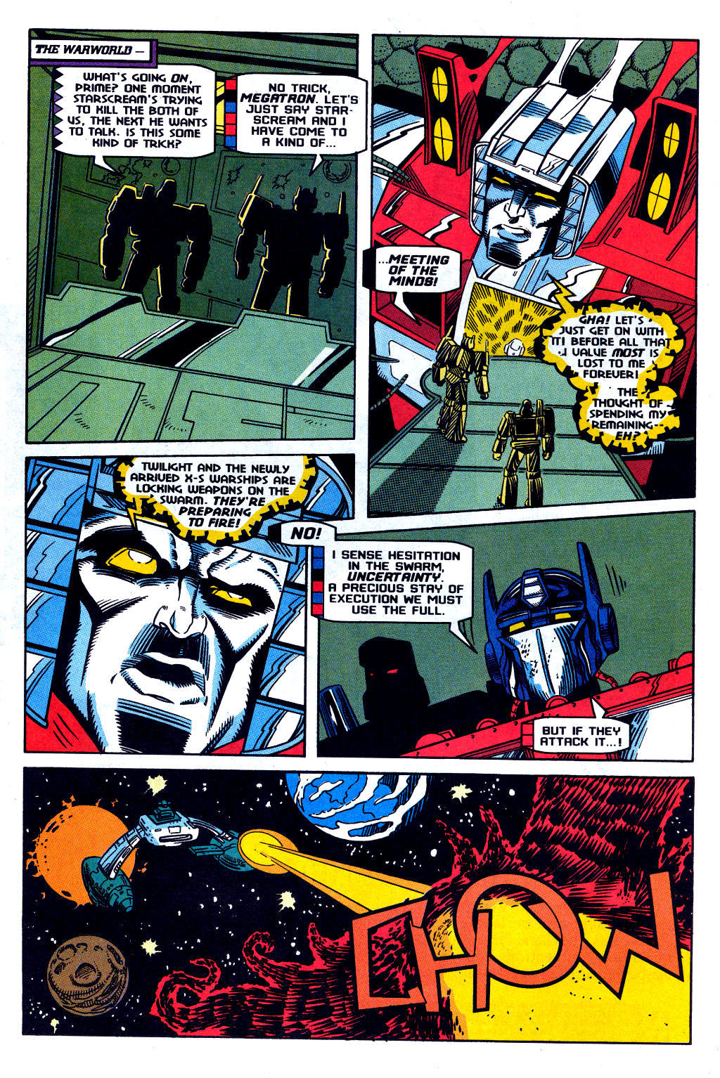 Read online Transformers: Generation 2 comic -  Issue #12 - 6