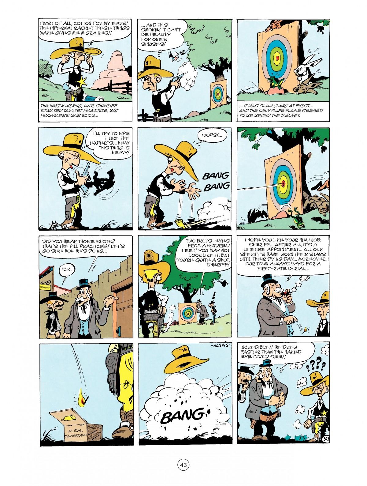 Read online A Lucky Luke Adventure comic -  Issue #40 - 43