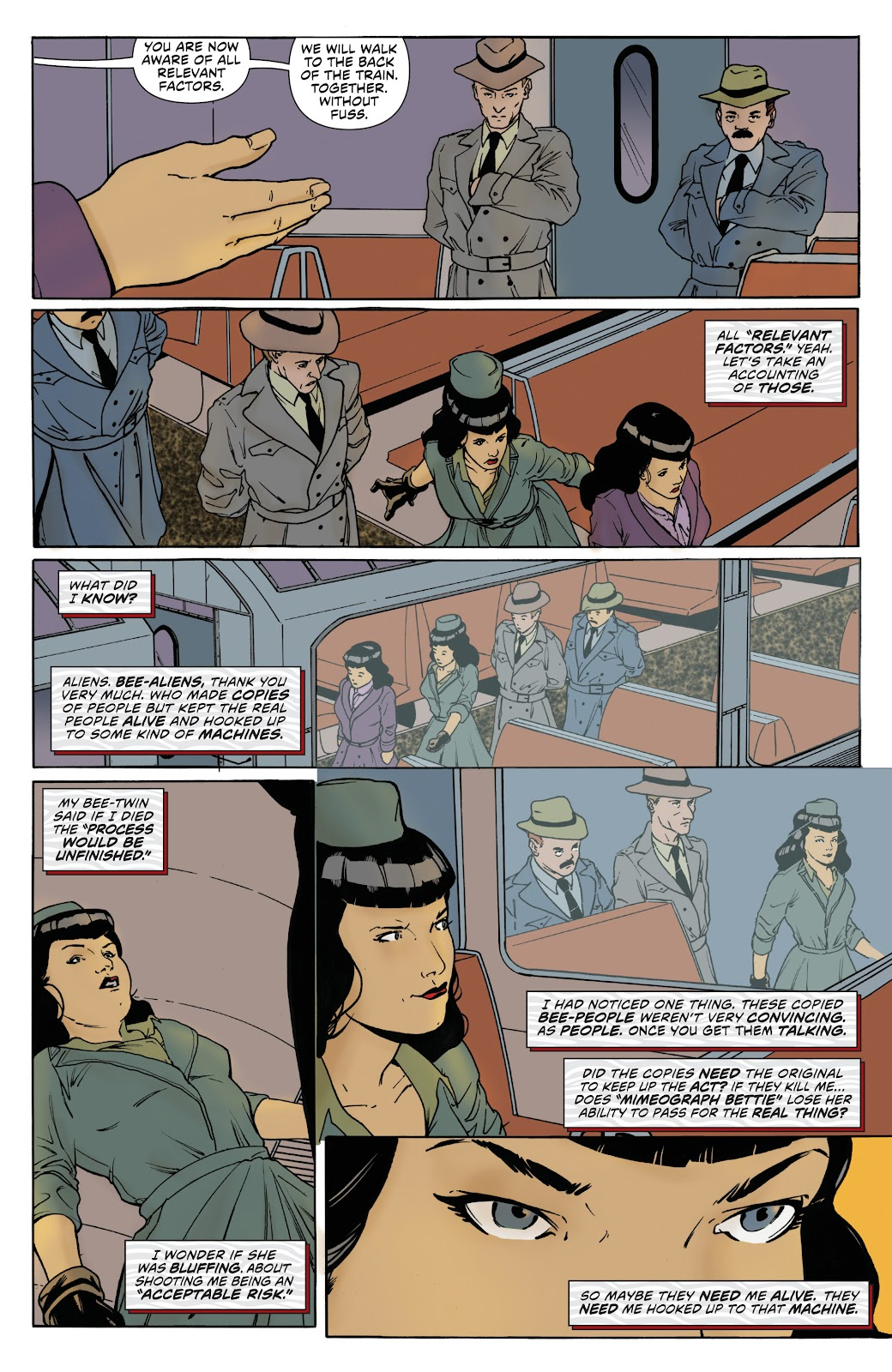 Read online Bettie Page: Unbound comic -  Issue #8 - 10