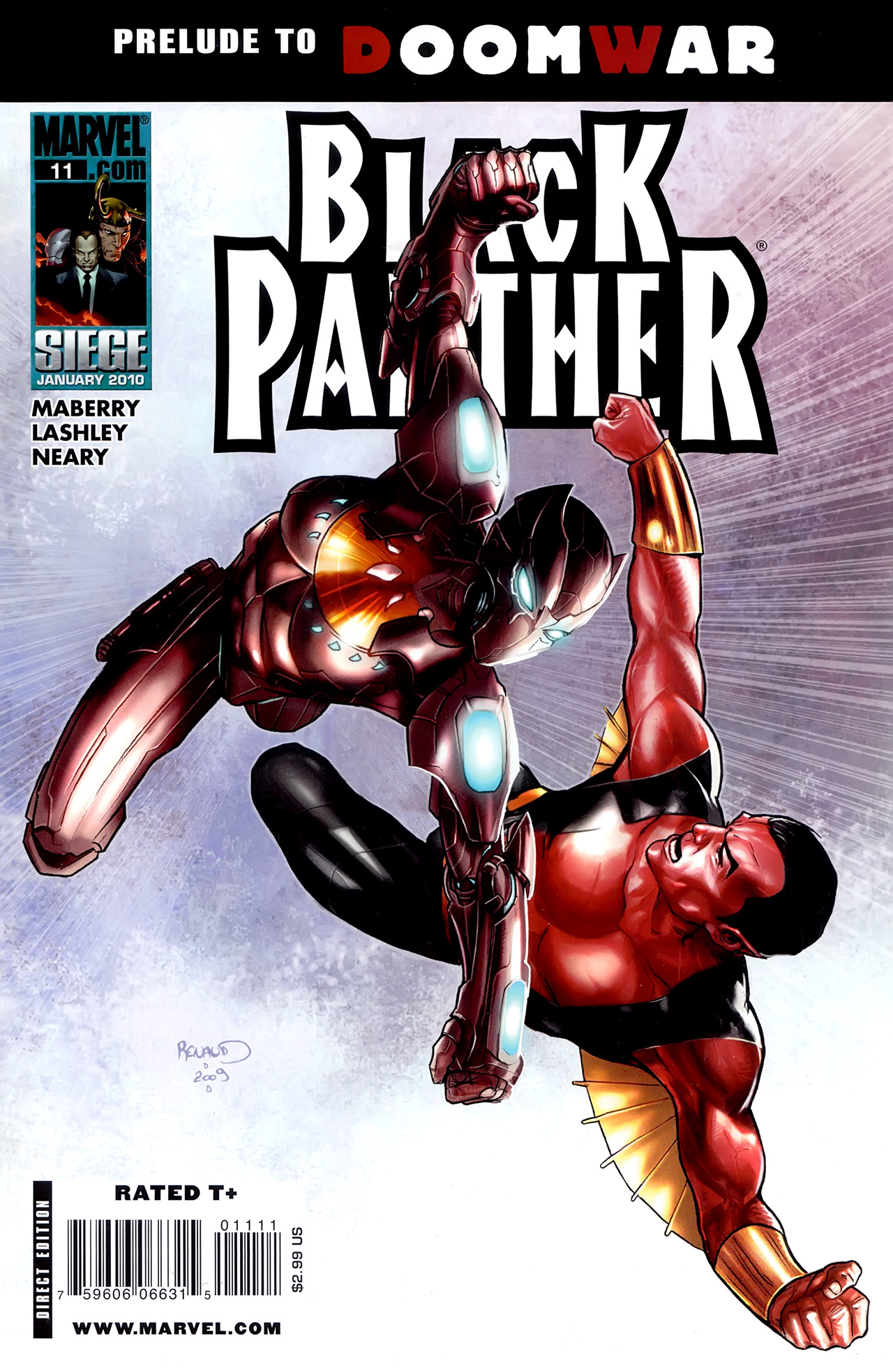 Black Panther (2009) 11 Page 1