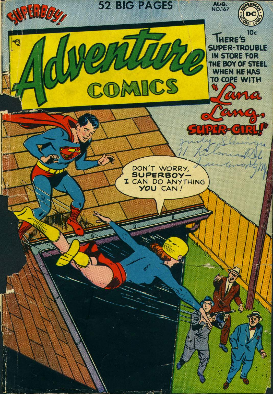 Adventure Comics (1938) 167 Page 1