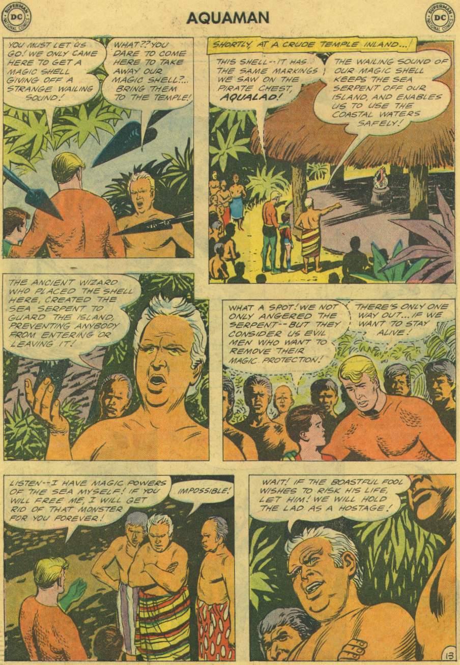 Read online Aquaman (1962) comic -  Issue #2 - 18