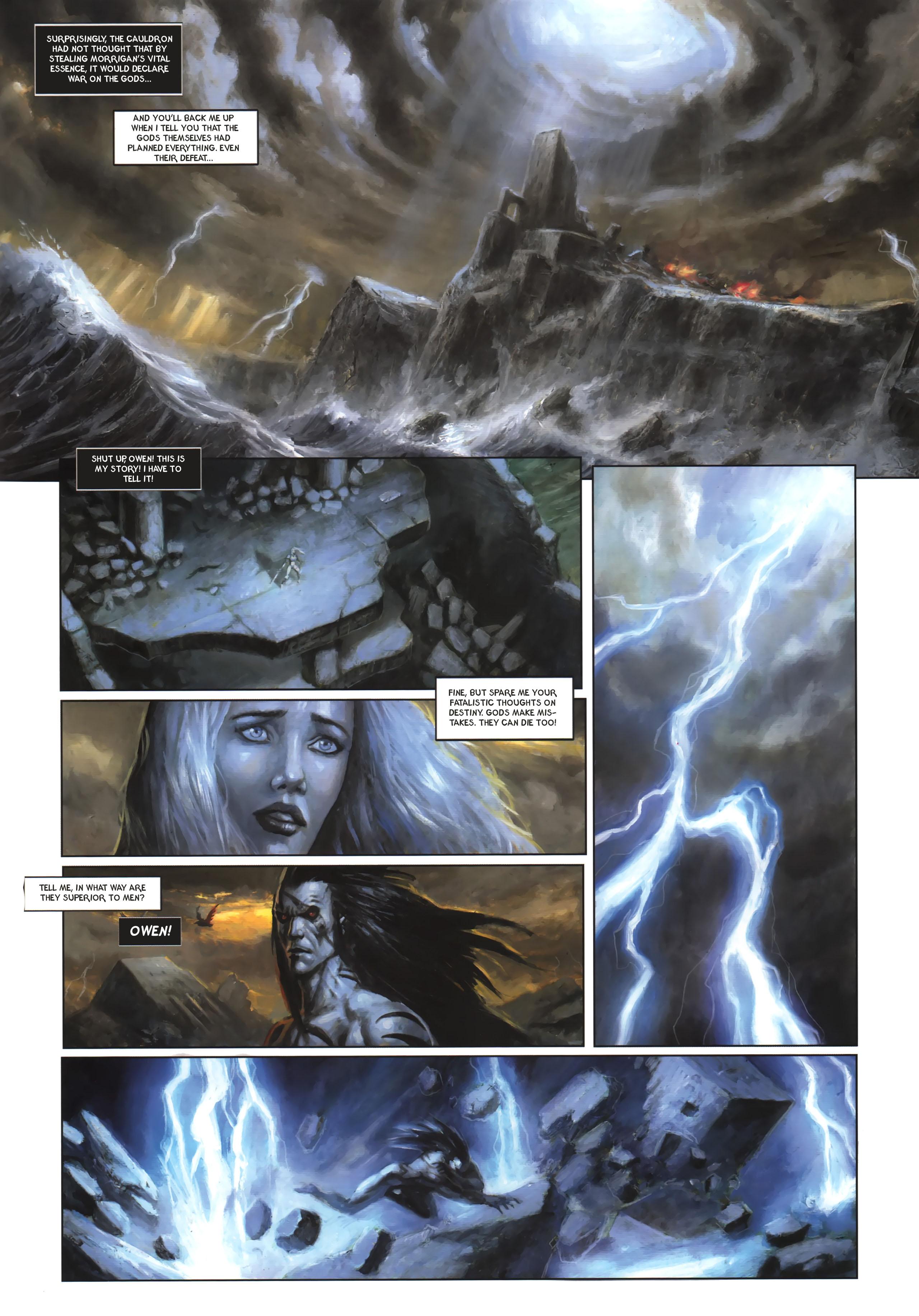 Read online Arawn comic -  Issue #6 - 10