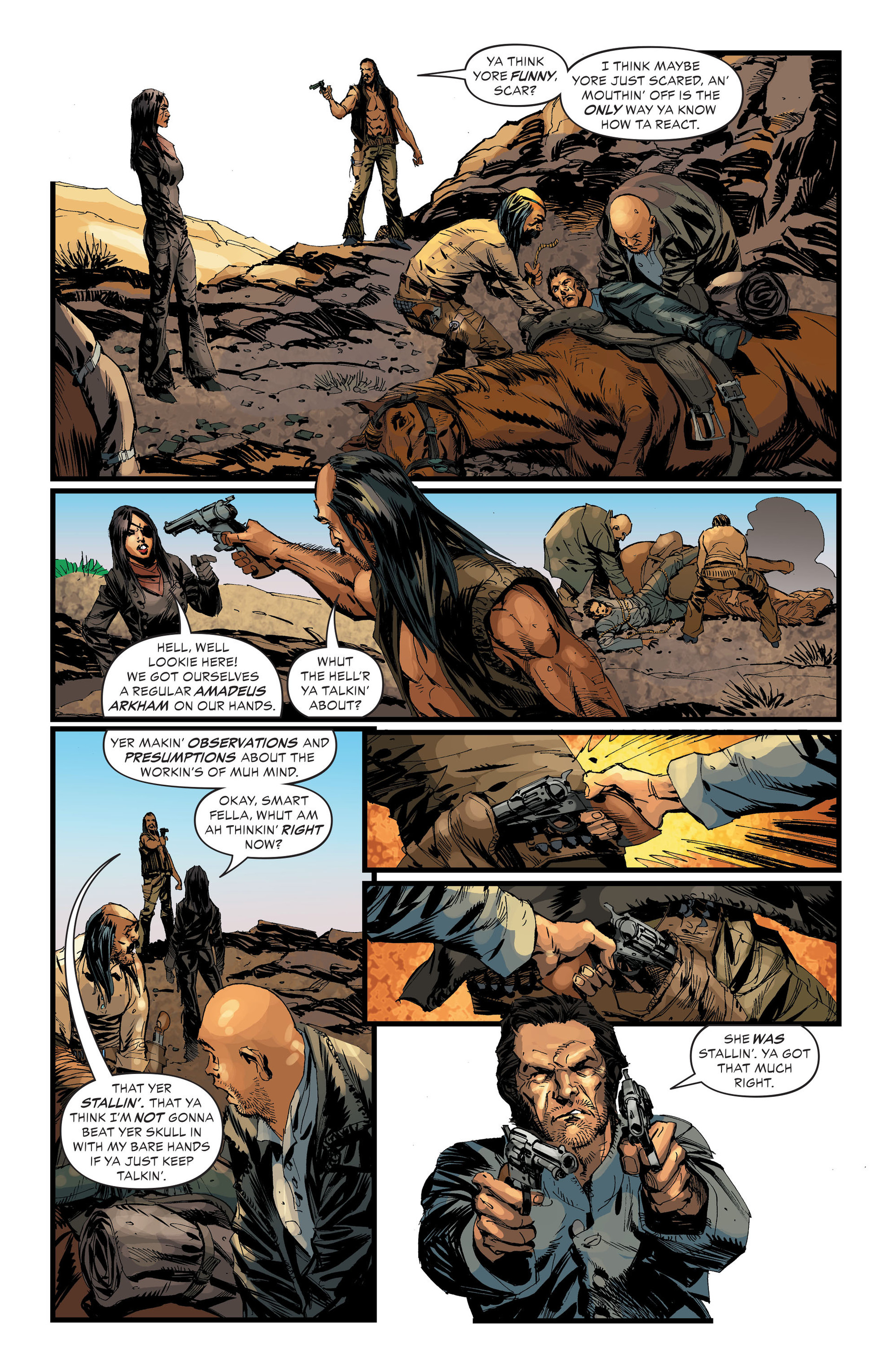 Read online All-Star Western (2011) comic -  Issue #33 - 5