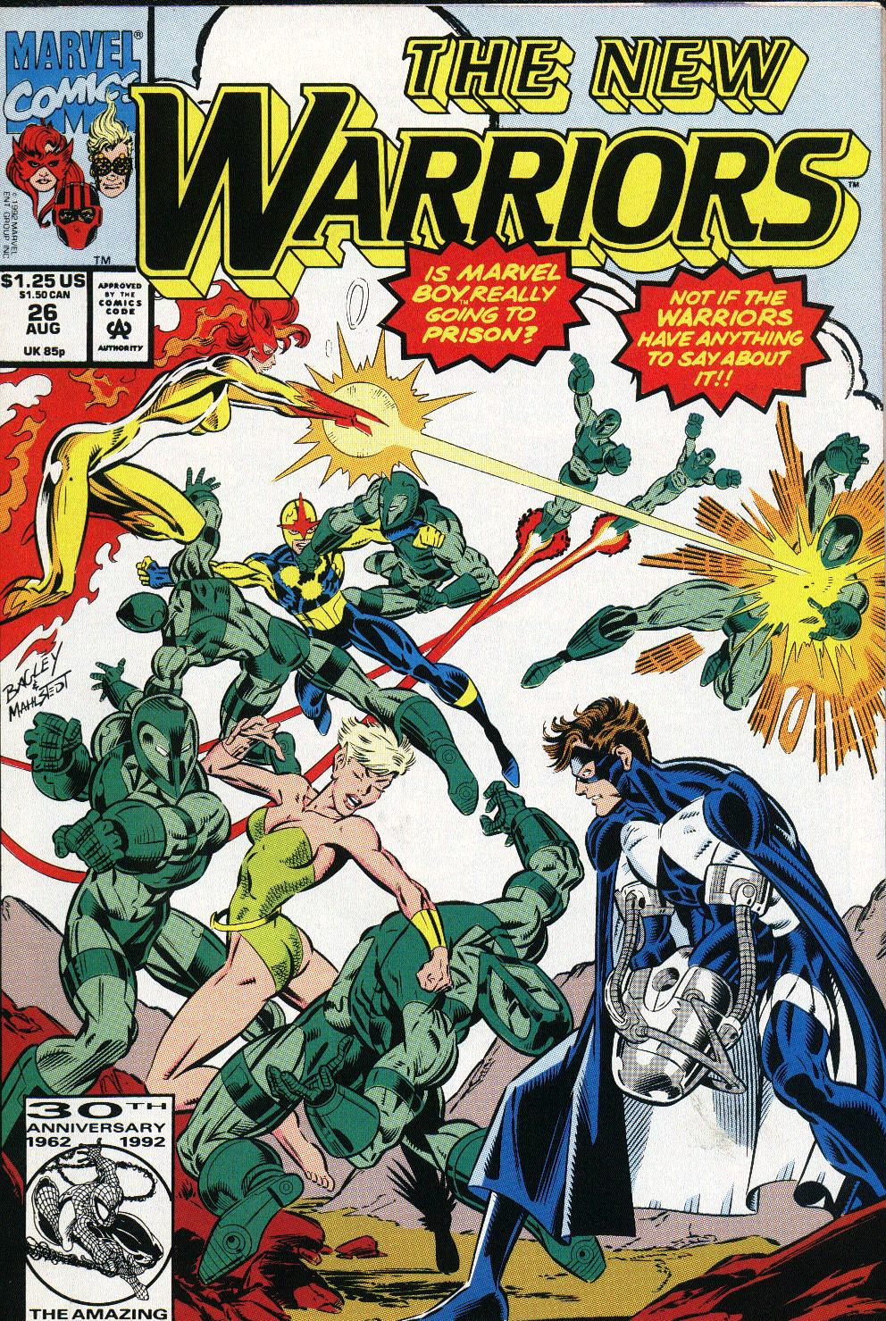 The New Warriors Issue #26 #30 - English 1