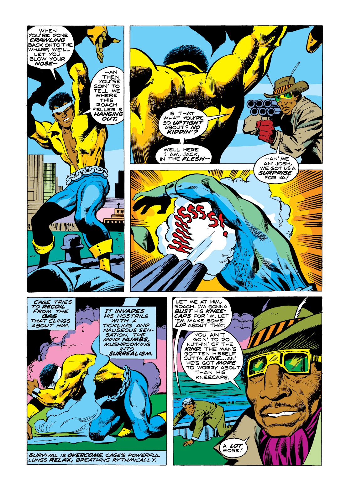 Read online Marvel Masterworks: Luke Cage, Power Man comic -  Issue # TPB 2 (Part 3) - 37