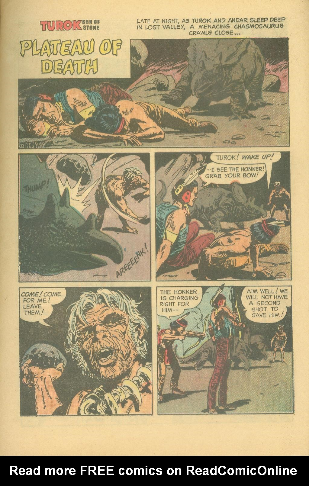 Read online Turok, Son of Stone comic -  Issue #28 - 21