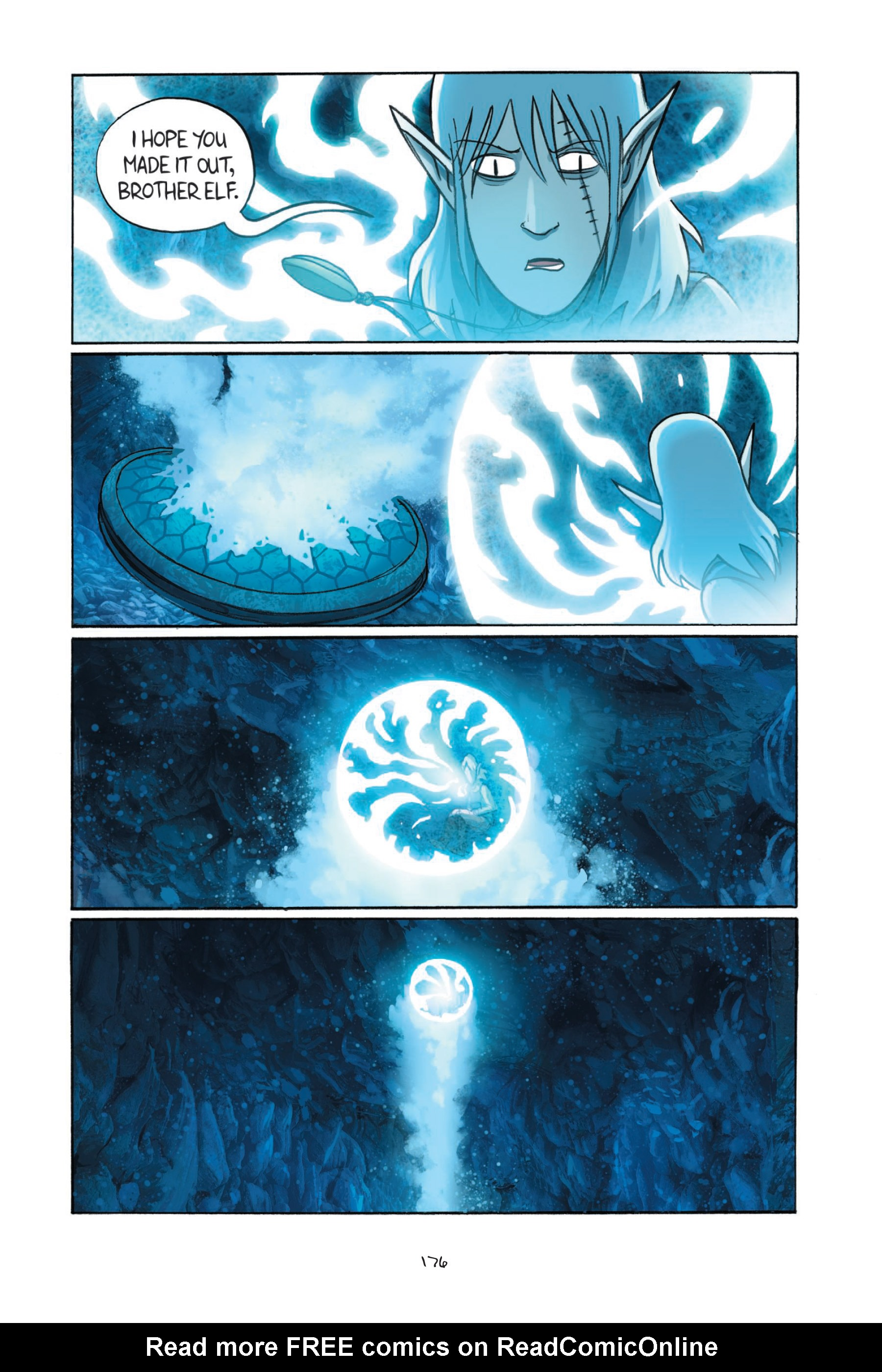 Read online Amulet comic -  Issue #7 - 176