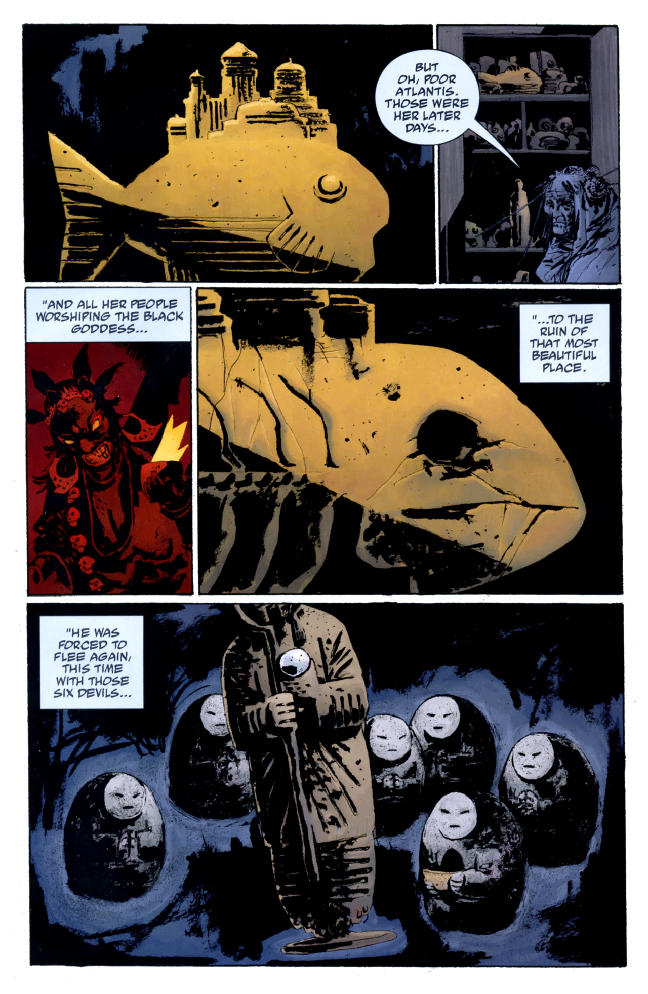 Read online Abe Sapien: The Drowning comic -  Issue #4 - 17