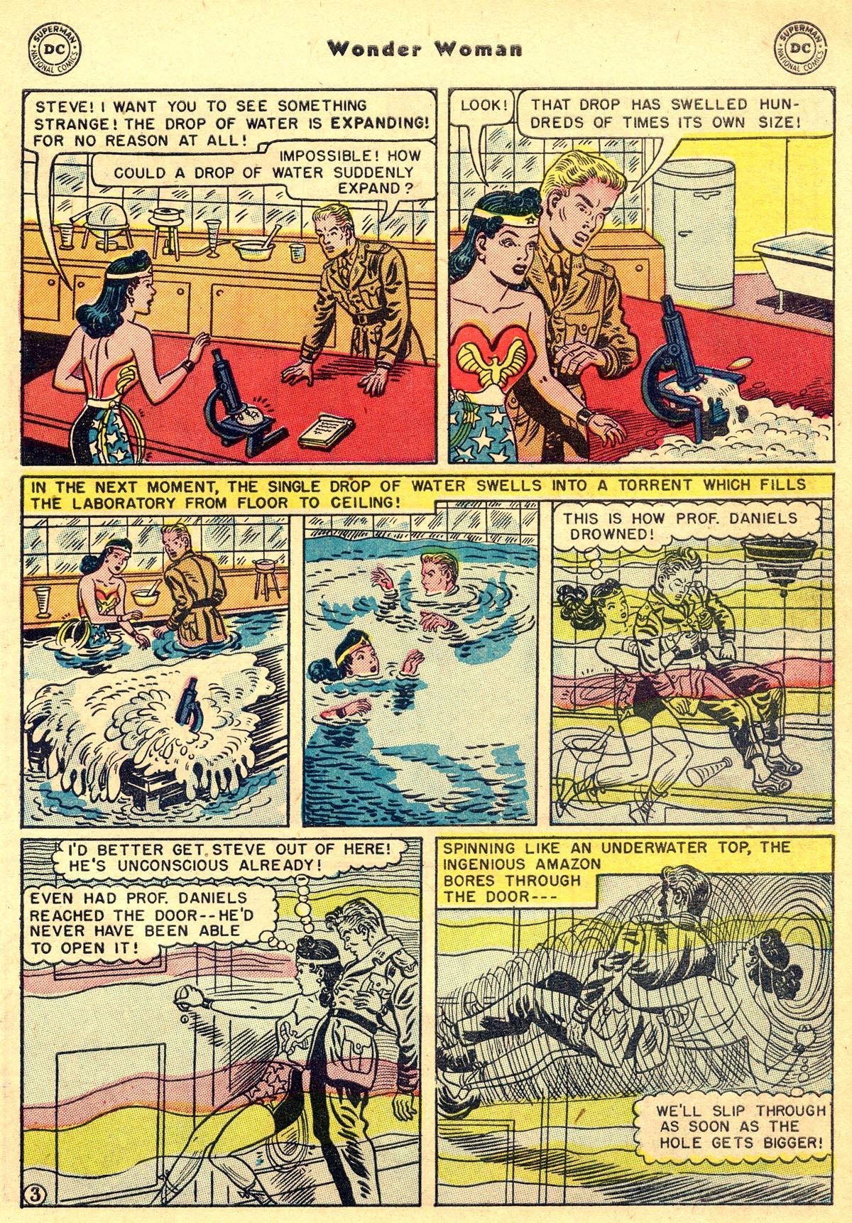 Read online Wonder Woman (1942) comic -  Issue #55 - 35
