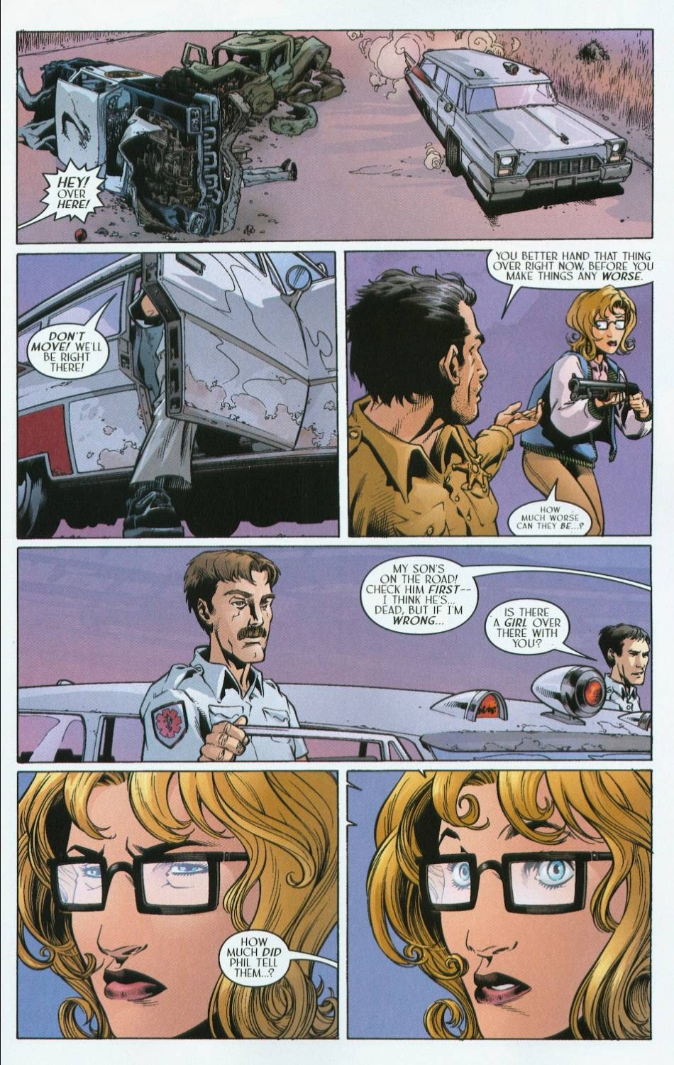 Read online Route 666 comic -  Issue #4 - 7
