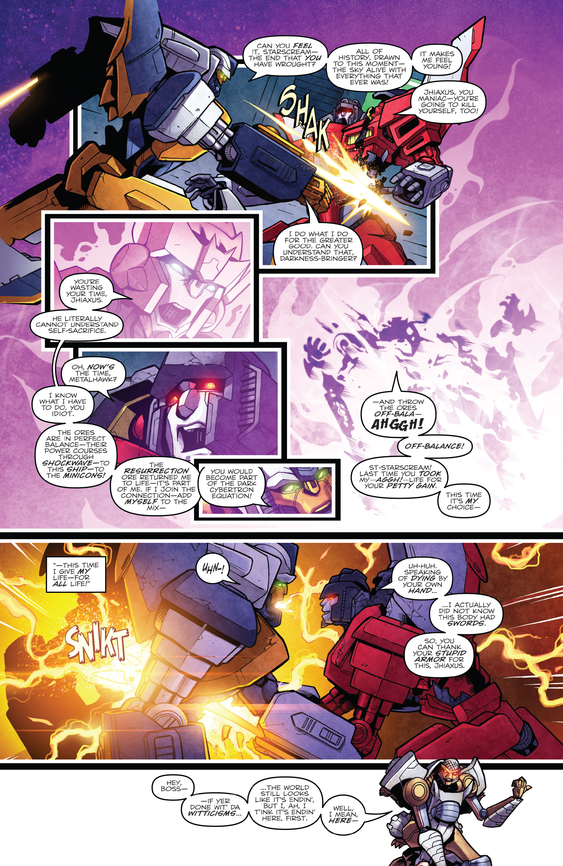 Read online The Transformers: Dark Cybertron Finale comic -  Issue # Full - 134
