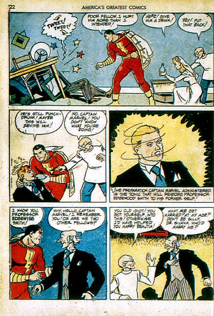 Read online America's Greatest Comics comic -  Issue #4 - 22
