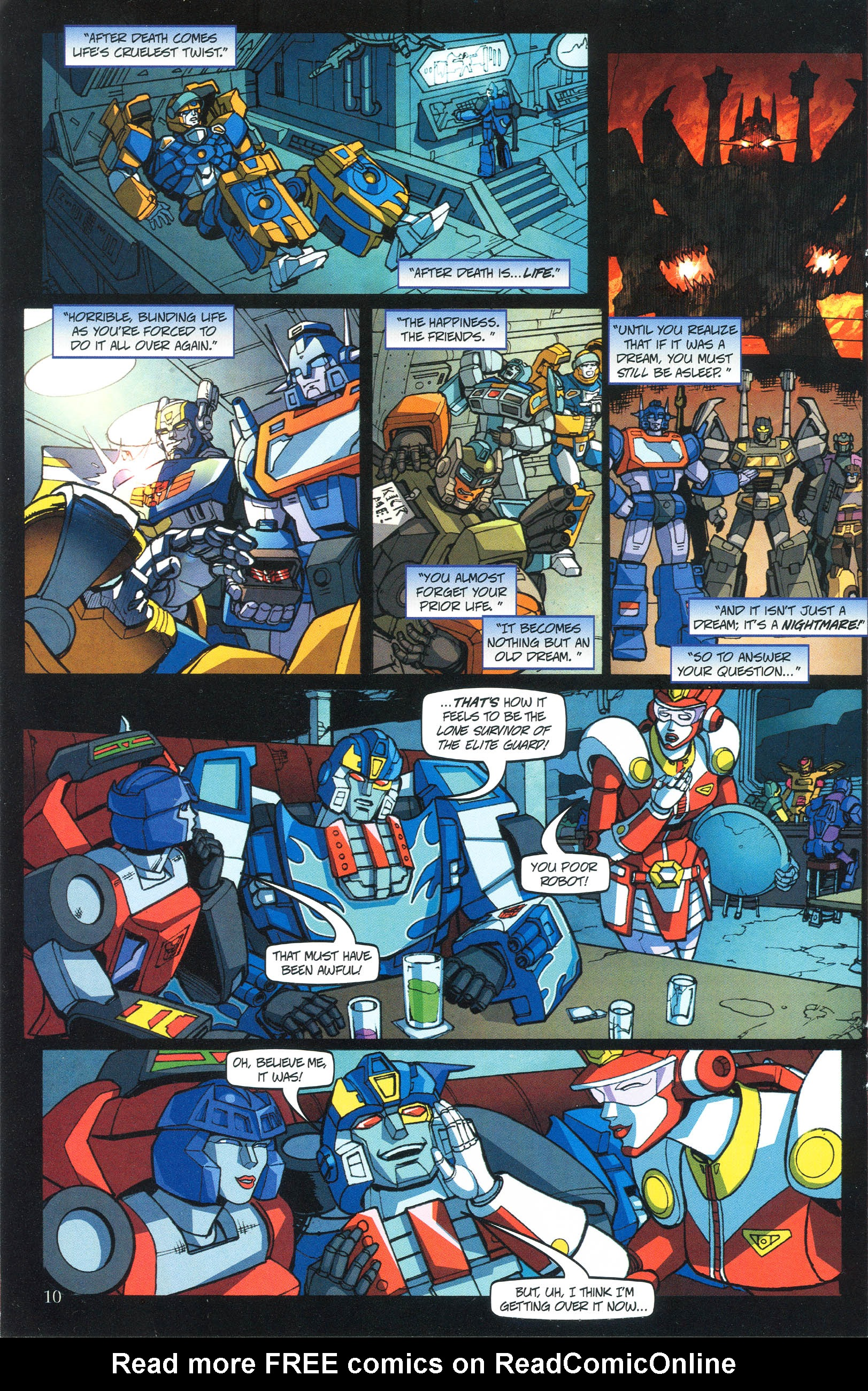 Read online Transformers: Collectors' Club comic -  Issue #37 - 10