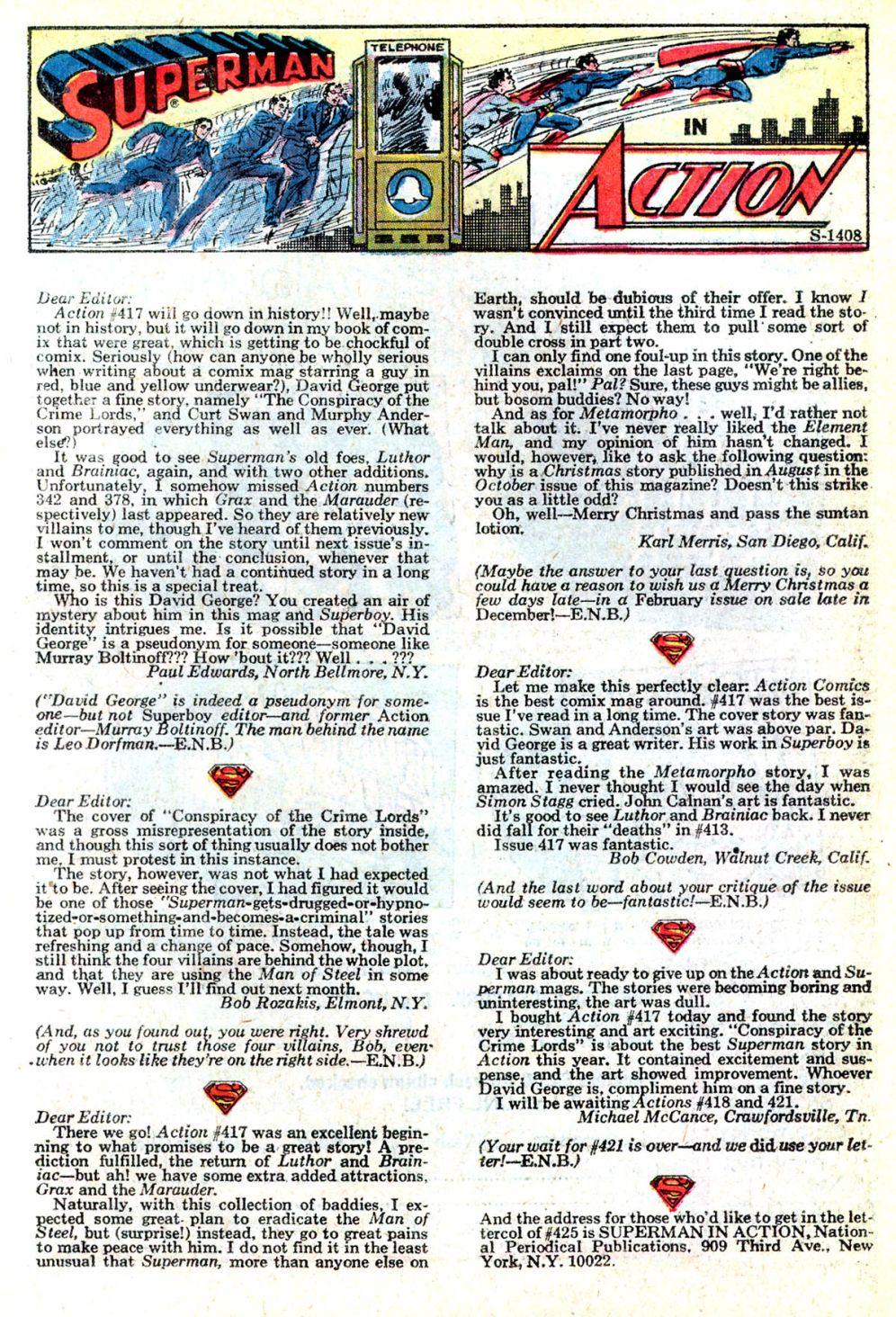 Action Comics (1938) 421 Page 21