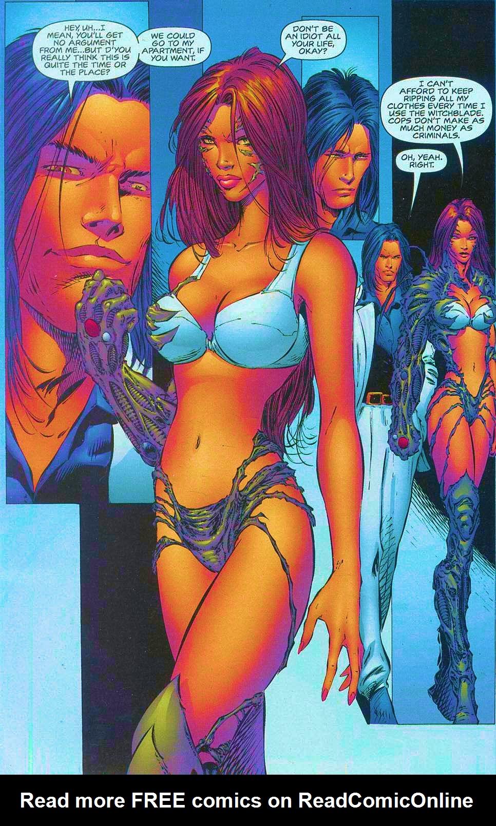 Read online Overkill: Witchblade/Aliens/Darkness/Predator comic -  Issue #1 - 33