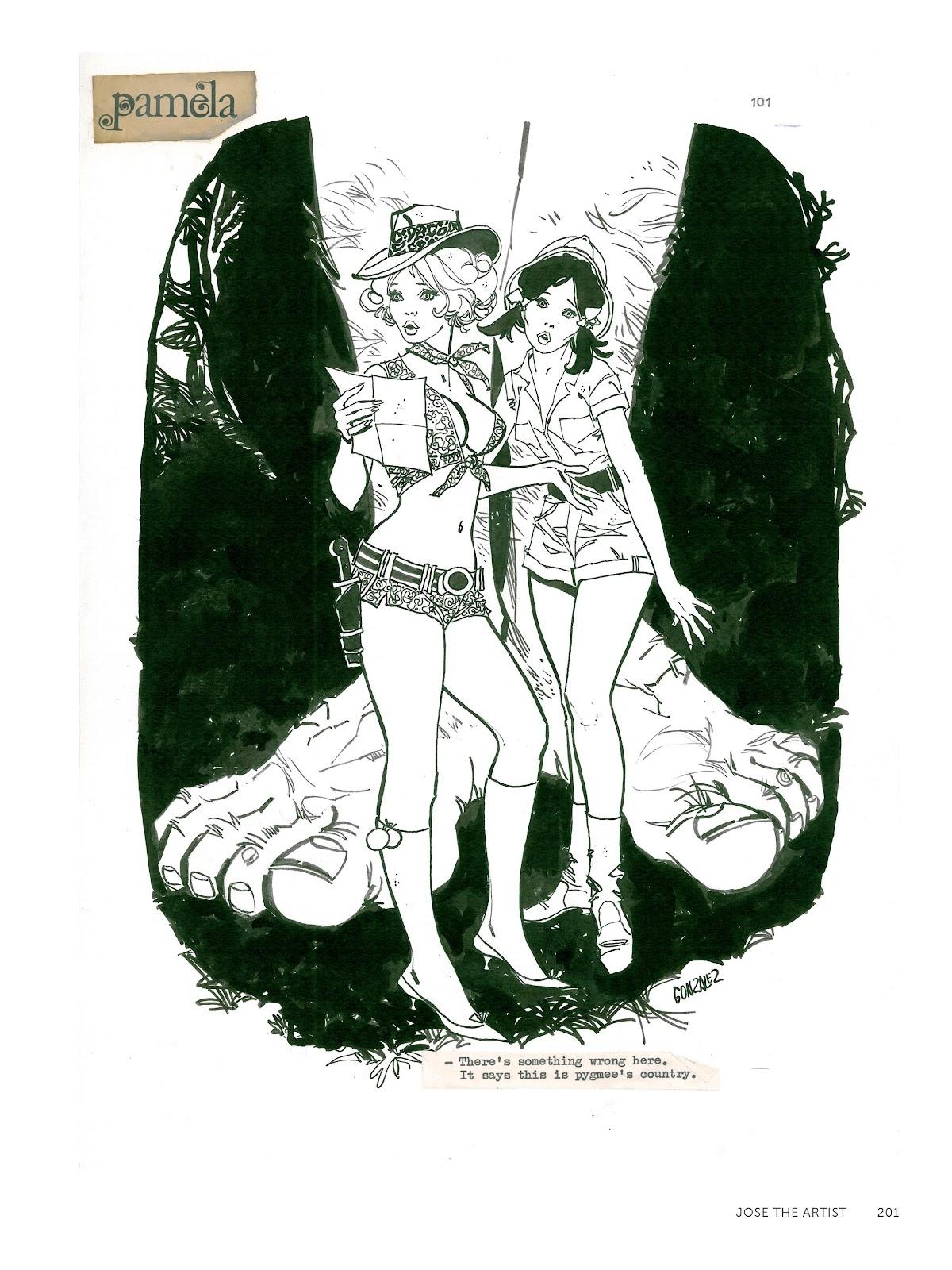 Read online The Art of Jose Gonzalez comic -  Issue # TPB (Part 3) - 4