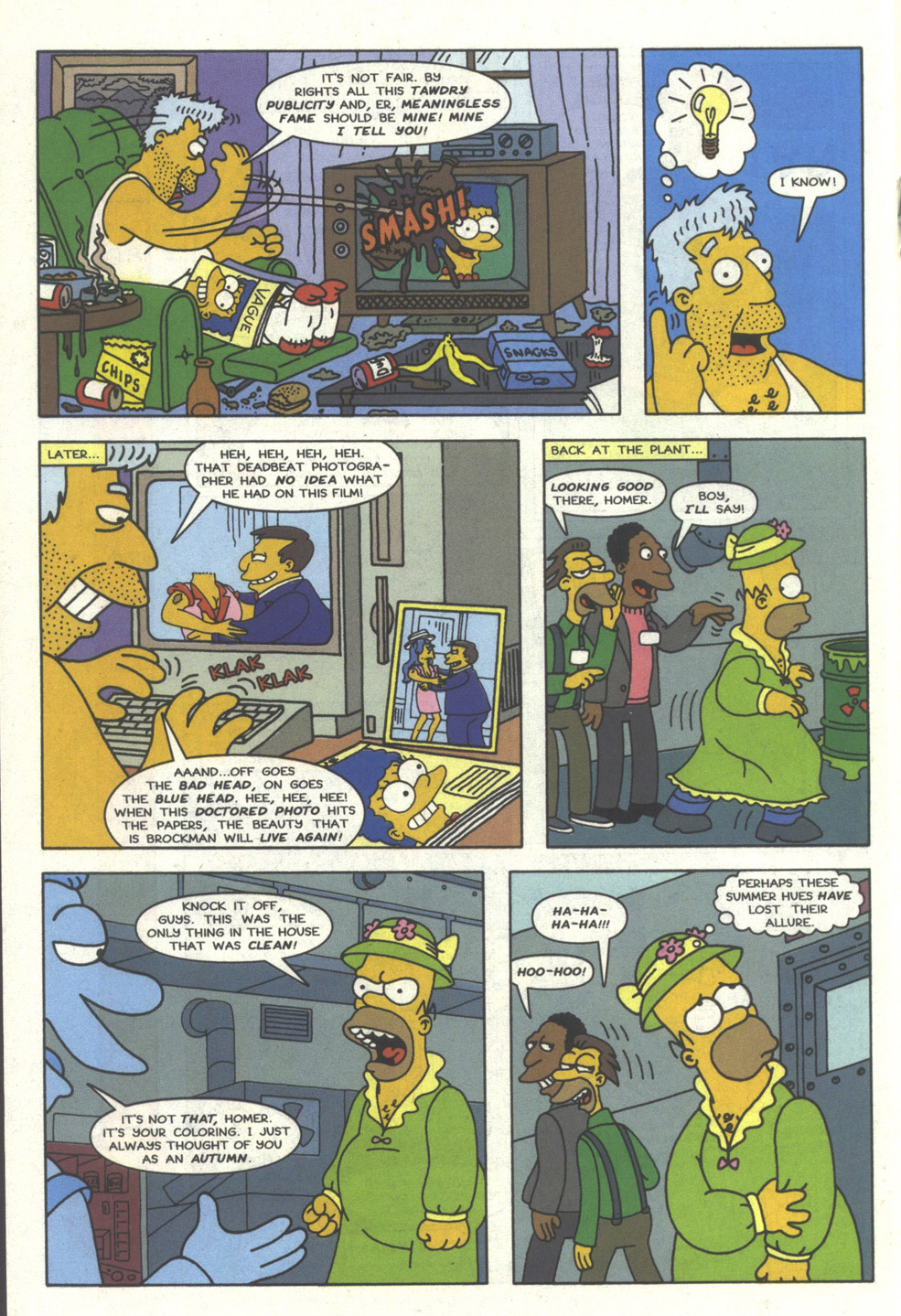 Read online Simpsons Comics comic -  Issue #25 - 17