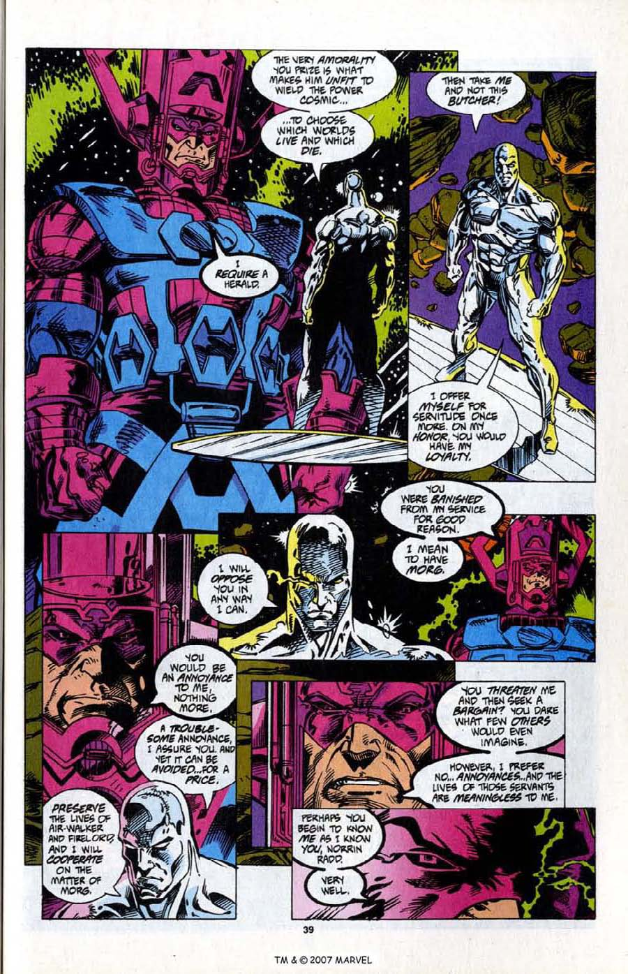 Read online Silver Surfer (1987) comic -  Issue # _Annual 7 - 41