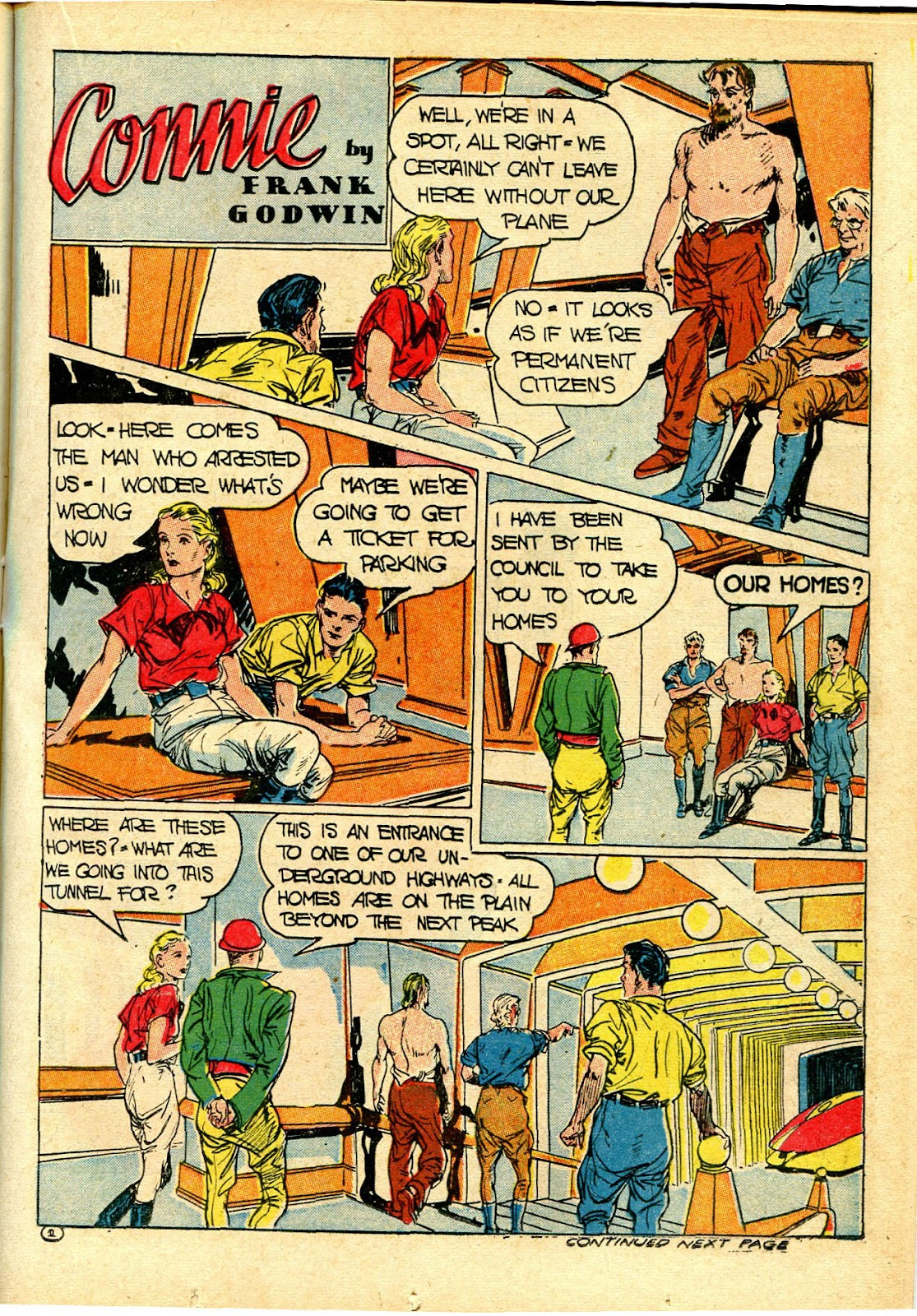 Read online Famous Funnies comic -  Issue #111 - 29