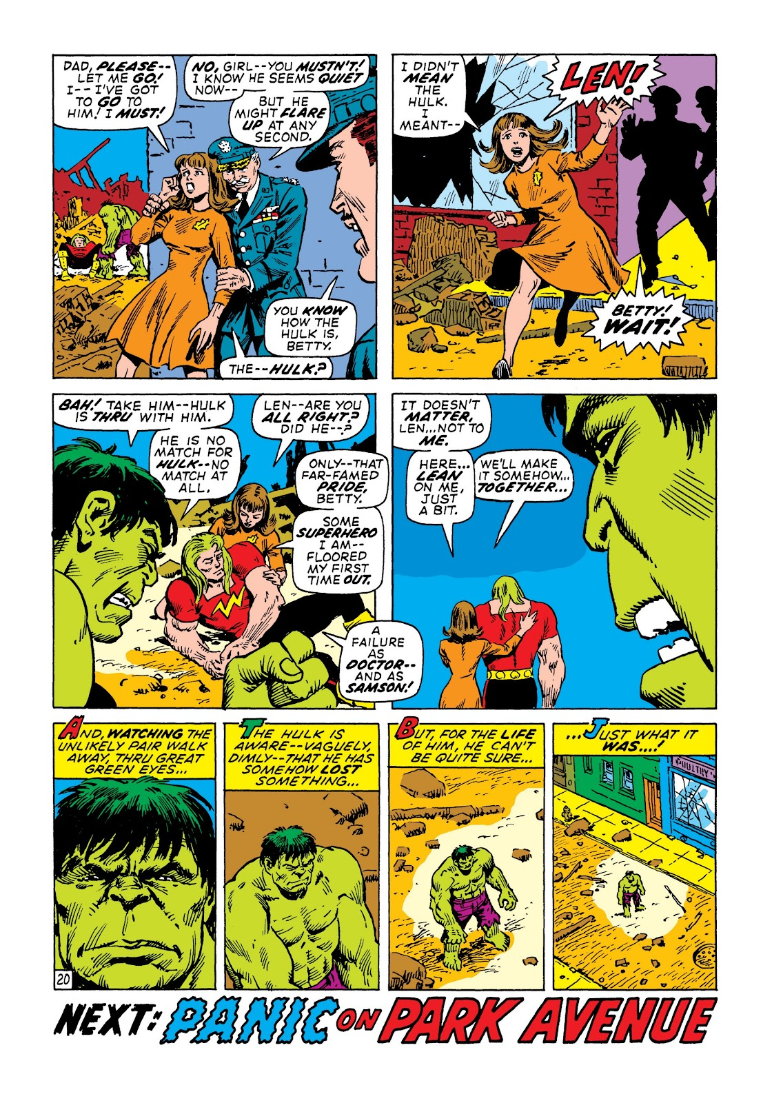 Read online Marvel Masterworks: The Incredible Hulk comic -  Issue # TPB 7 (Part 2) - 66