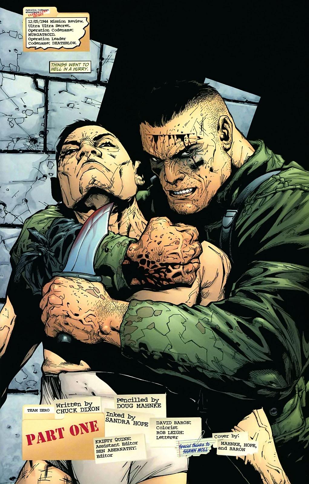 Read online Team Zero comic -  Issue #1 - 2
