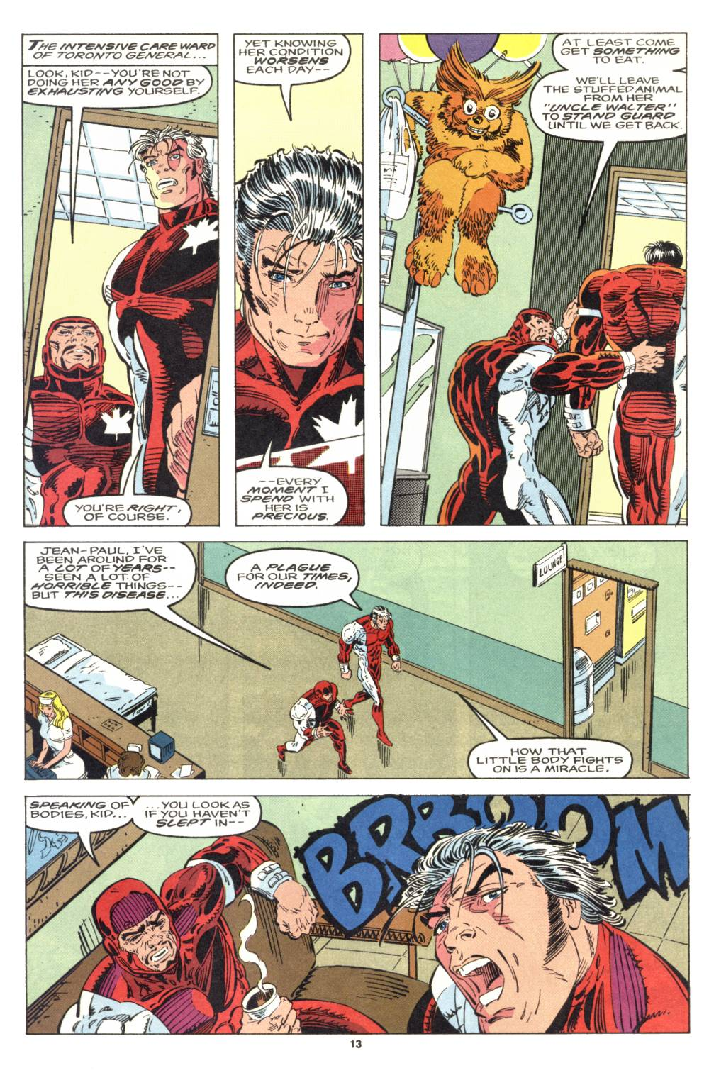 Read online Alpha Flight (1983) comic -  Issue #106 - 11