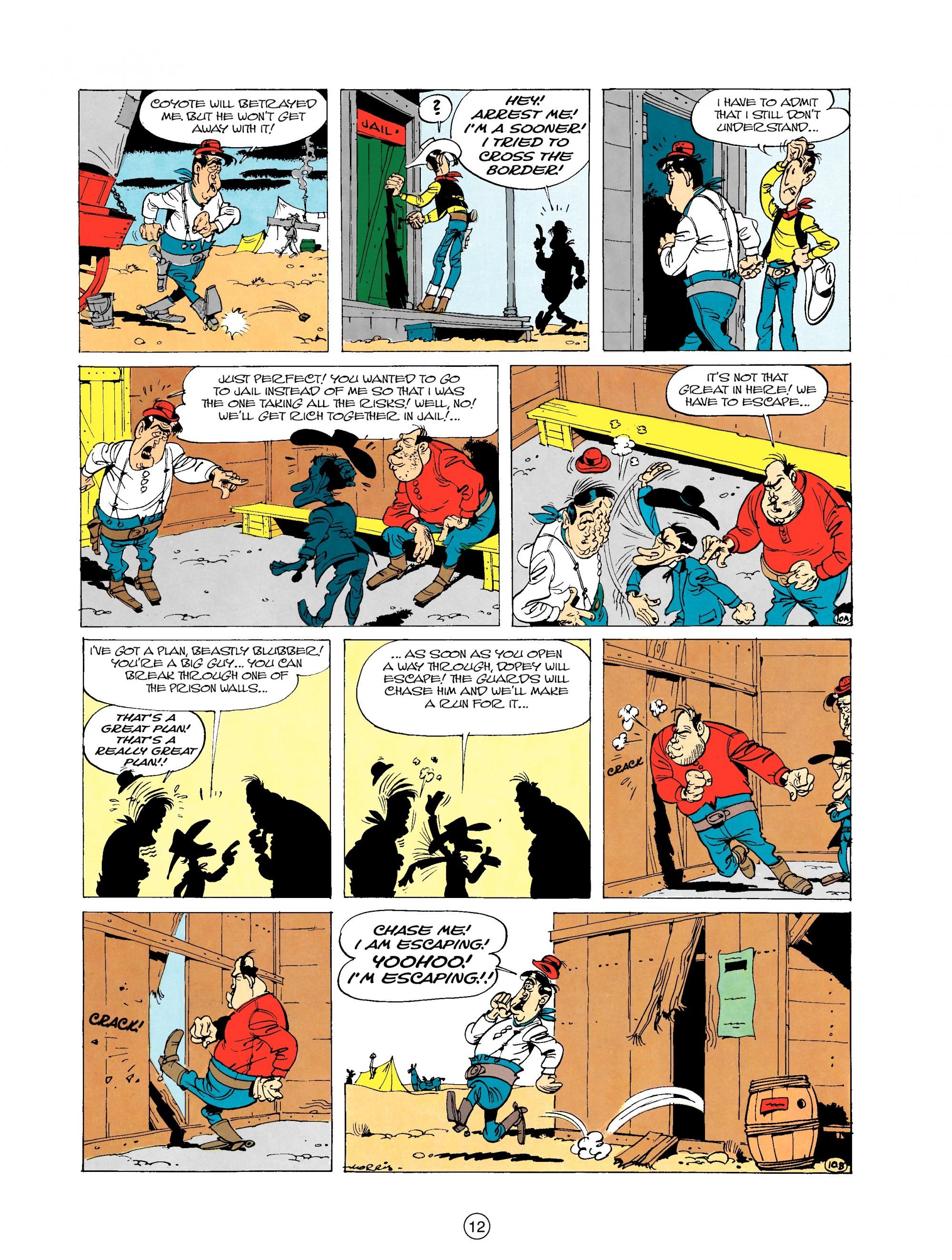Read online A Lucky Luke Adventure comic -  Issue #20 - 12