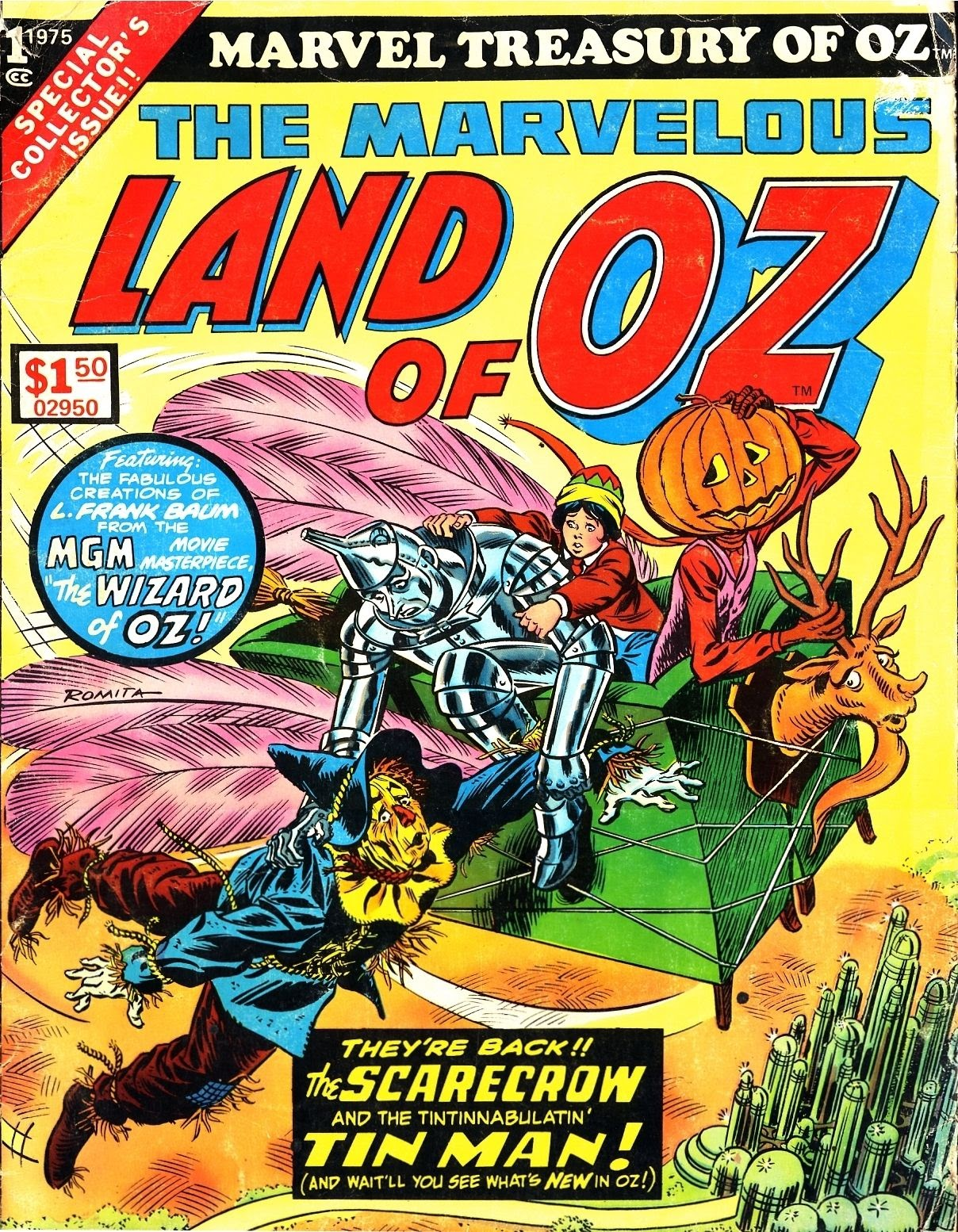 Marvel Treasury of Oz featuring the Marvelous Land of Oz Full Page 1