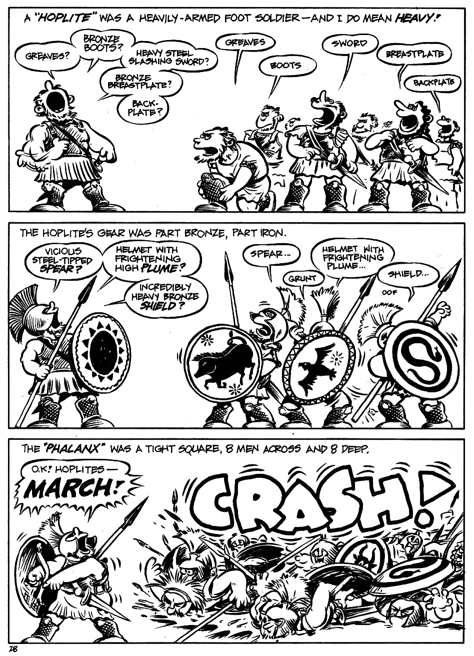 Read online The Cartoon History of the Universe comic -  Issue #5 - 30