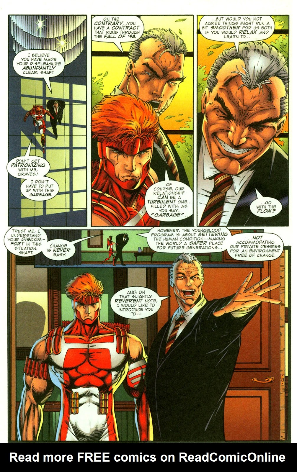 Read online Youngblood GT Interactive Ultra Game Players Special Edition comic -  Issue # Full - 8