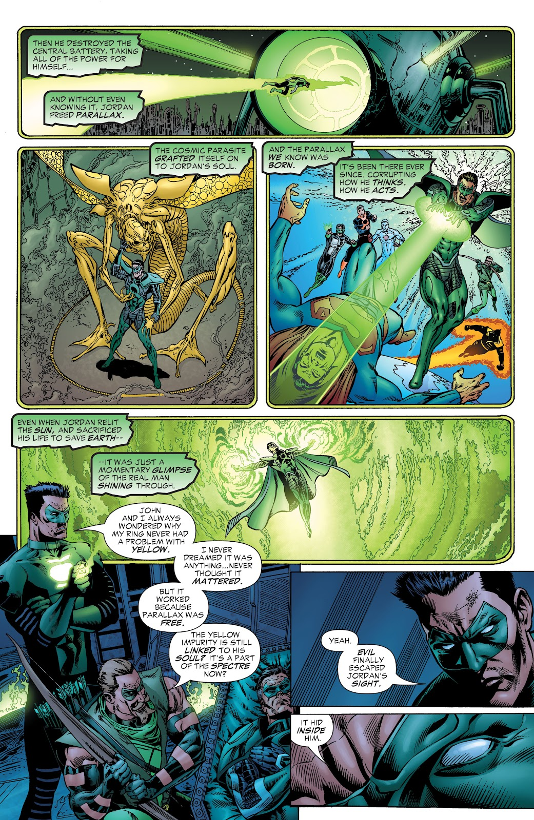 Read online Green Lantern by Geoff Johns comic -  Issue # TPB 1 (Part 1) - 84