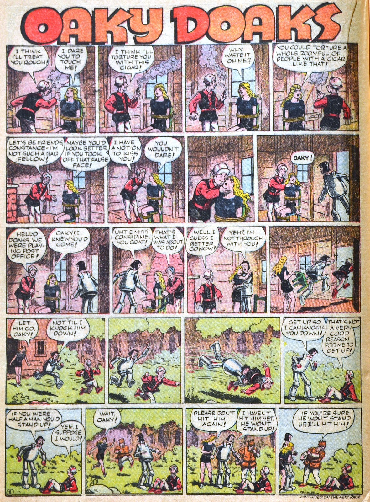 Read online Famous Funnies comic -  Issue #51 - 38