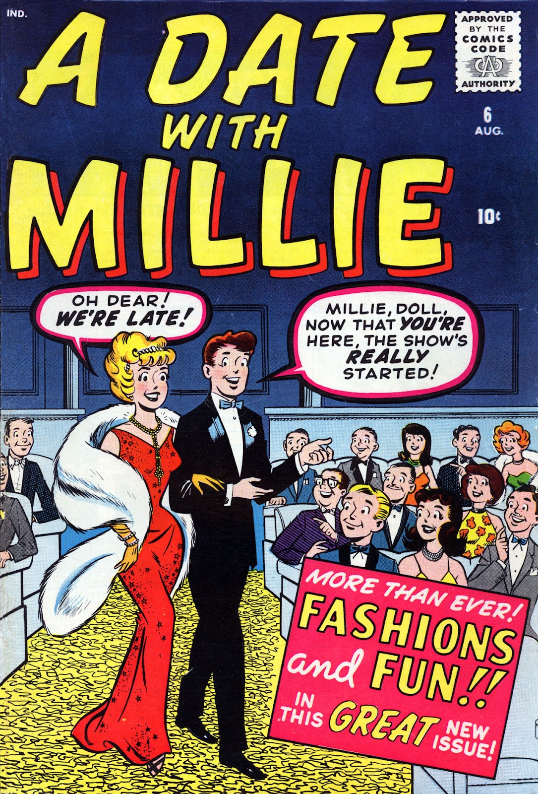 A Date with Millie (1959) issue 6 - Page 1