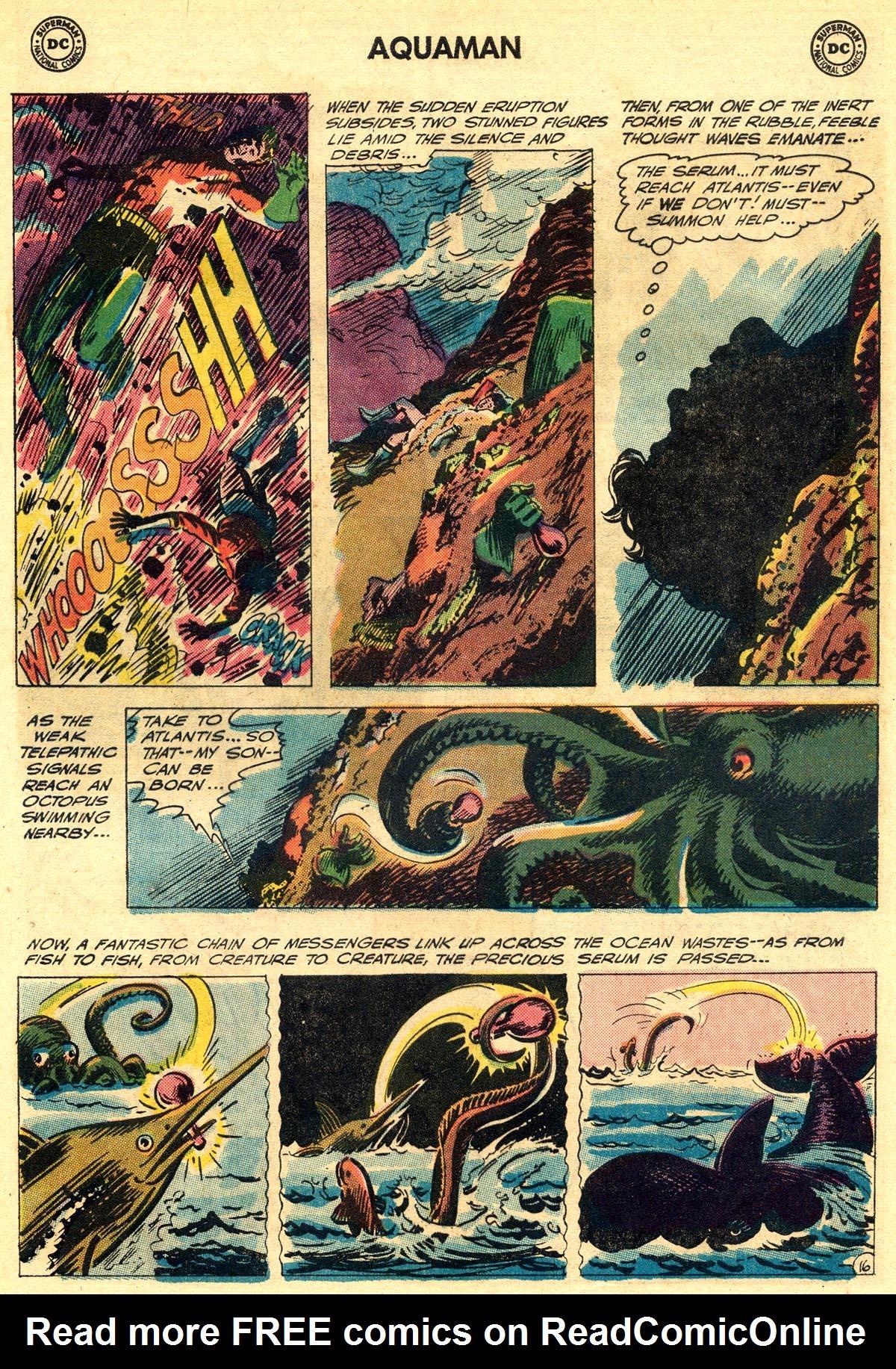 Read online Aquaman (1962) comic -  Issue #23 - 21