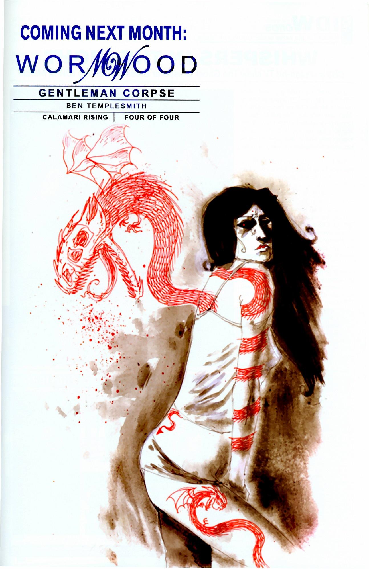 Read online Wormwood: Gentleman Corpse comic -  Issue #11 - 25