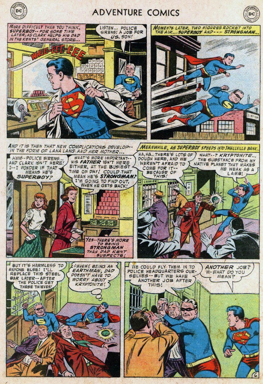 Read online Adventure Comics (1938) comic -  Issue #236 - 8
