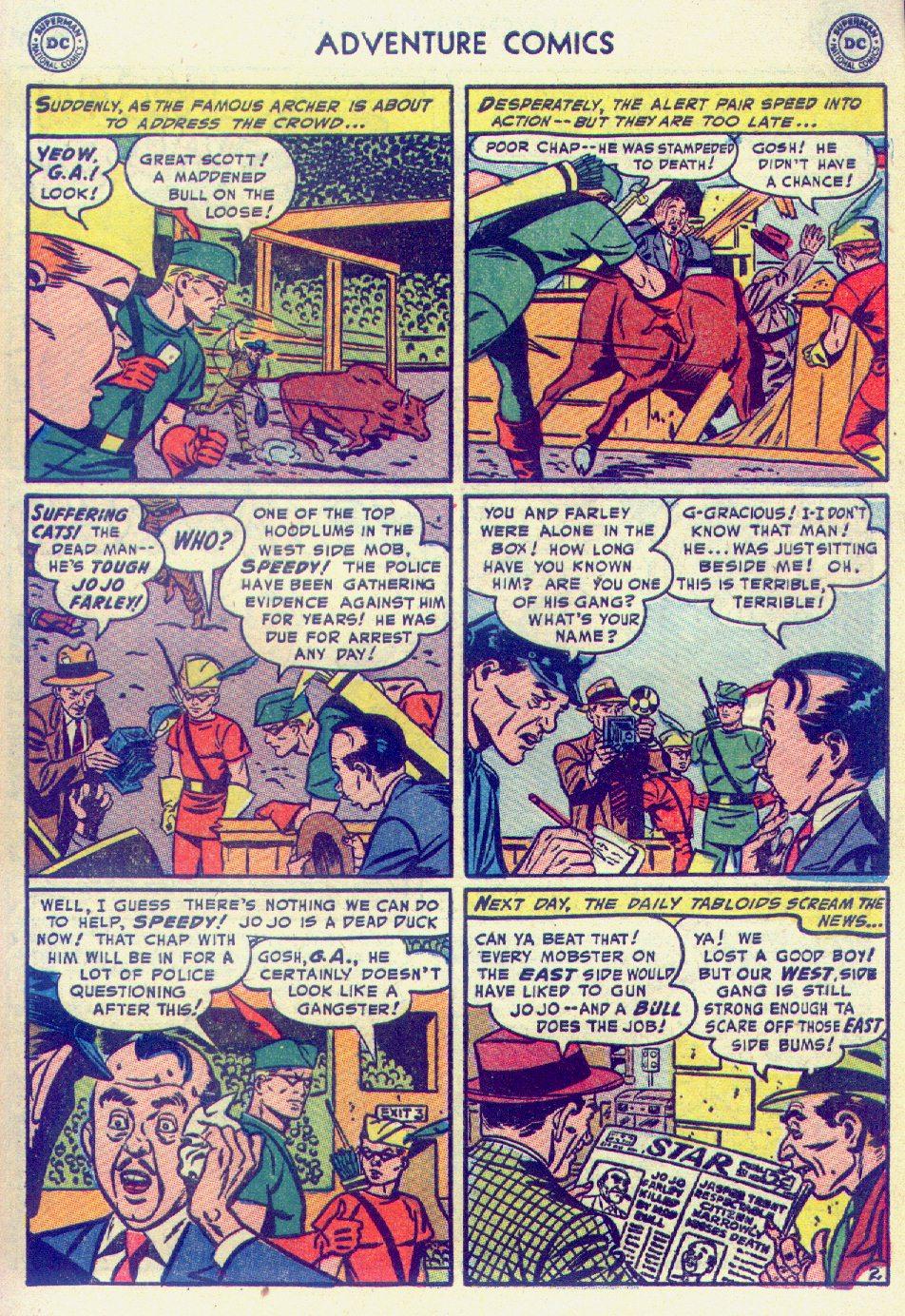 Read online Adventure Comics (1938) comic -  Issue #201 - 35