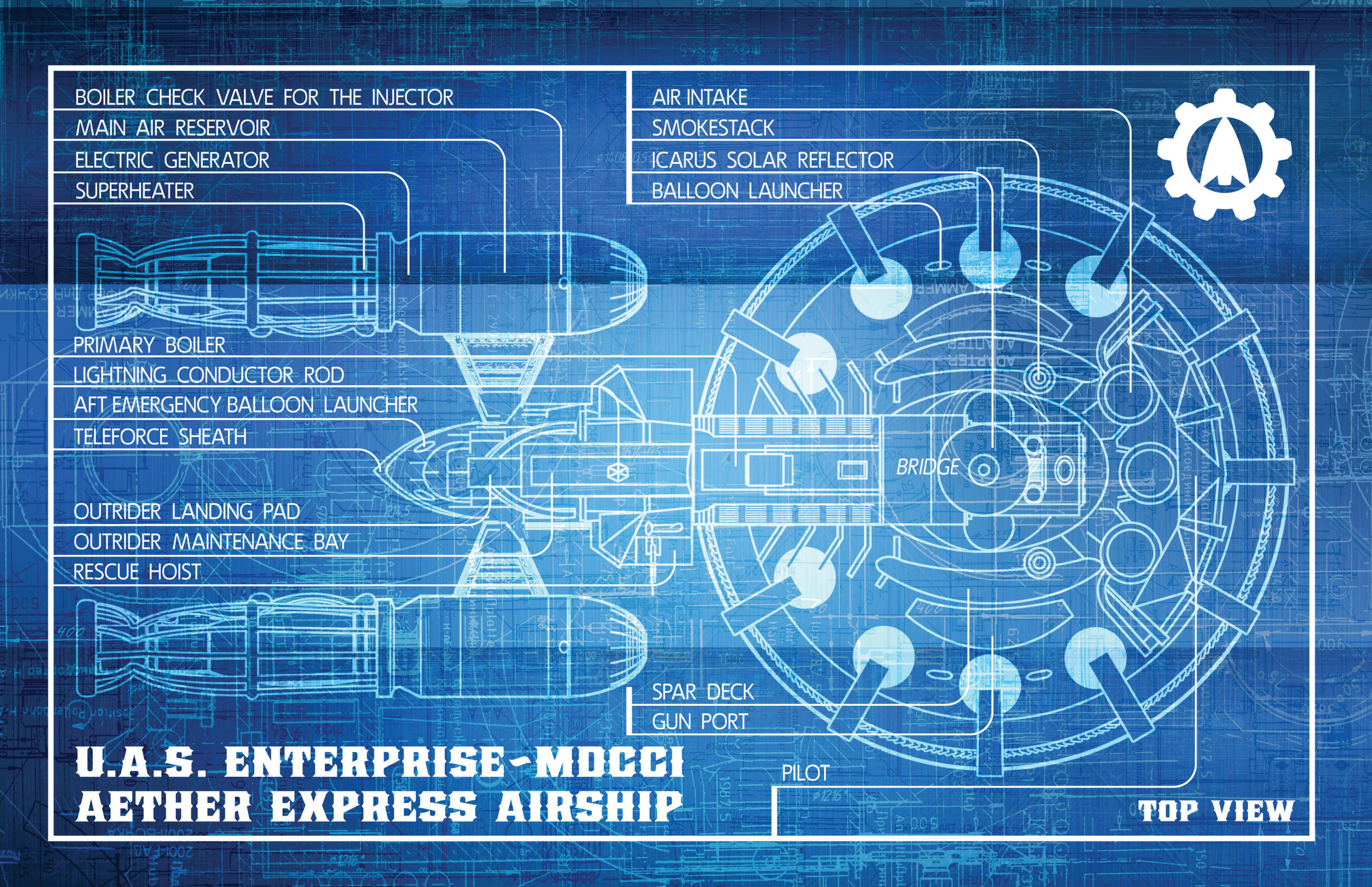 Read online Airship Enterprise: The Infernal Machine comic -  Issue #3 - 22