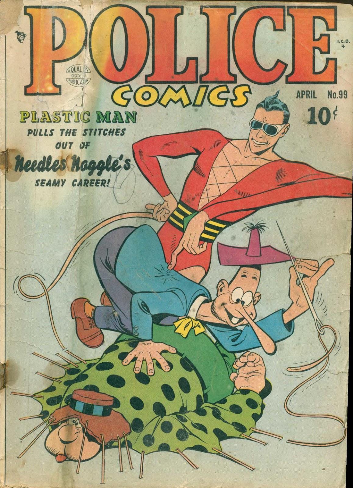 Police Comics 99 Page 1
