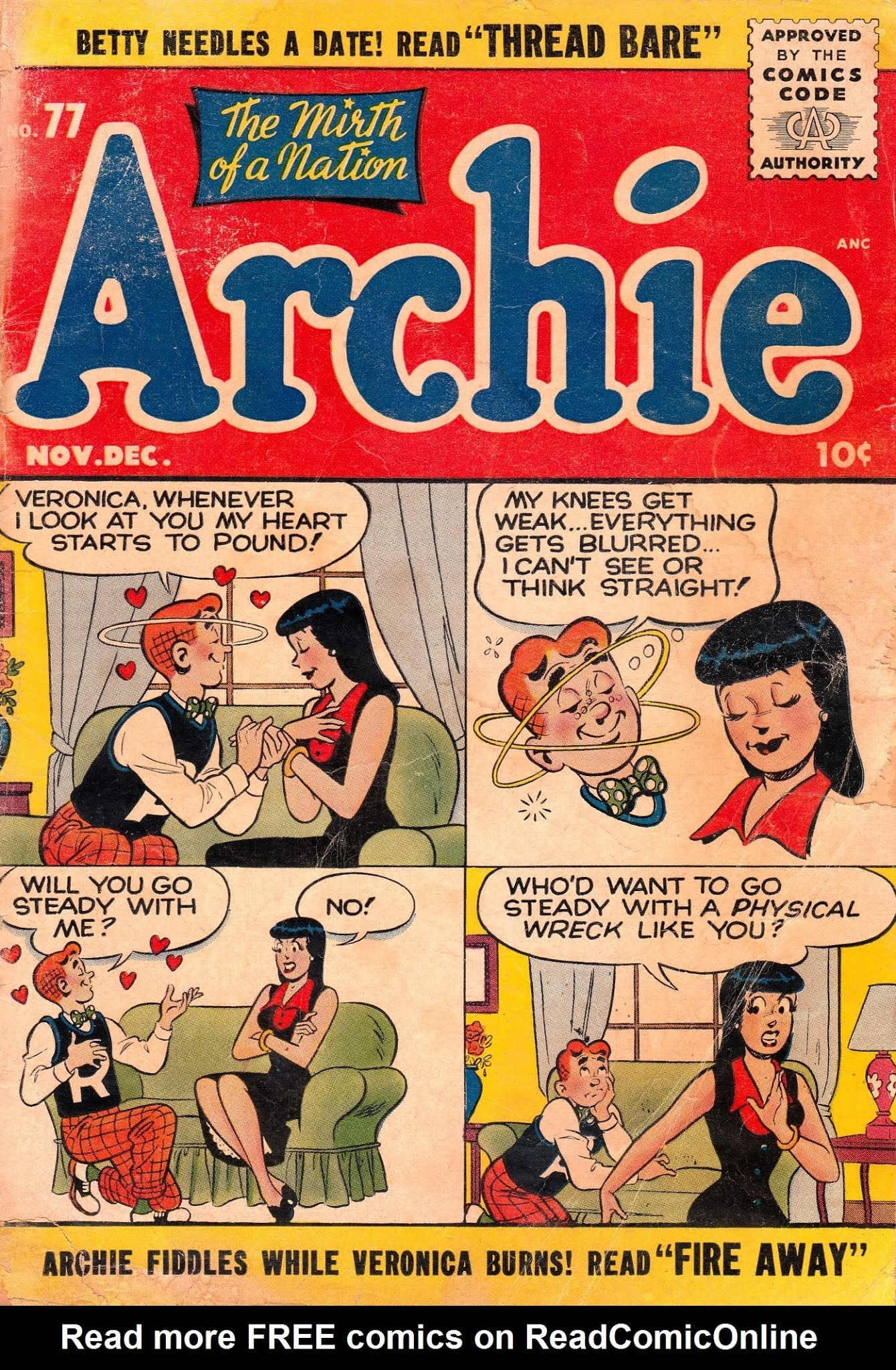 Archie Comics issue 077 - Page 1