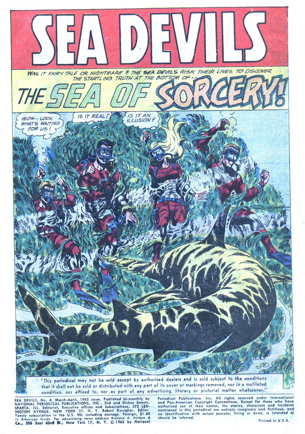 Read online Sea Devils comic -  Issue #4 - 4