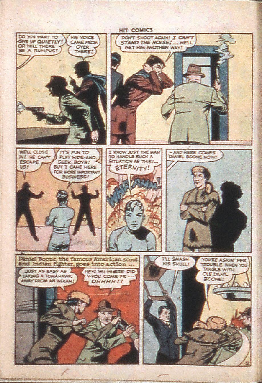 Read online Hit Comics comic -  Issue #37 - 14