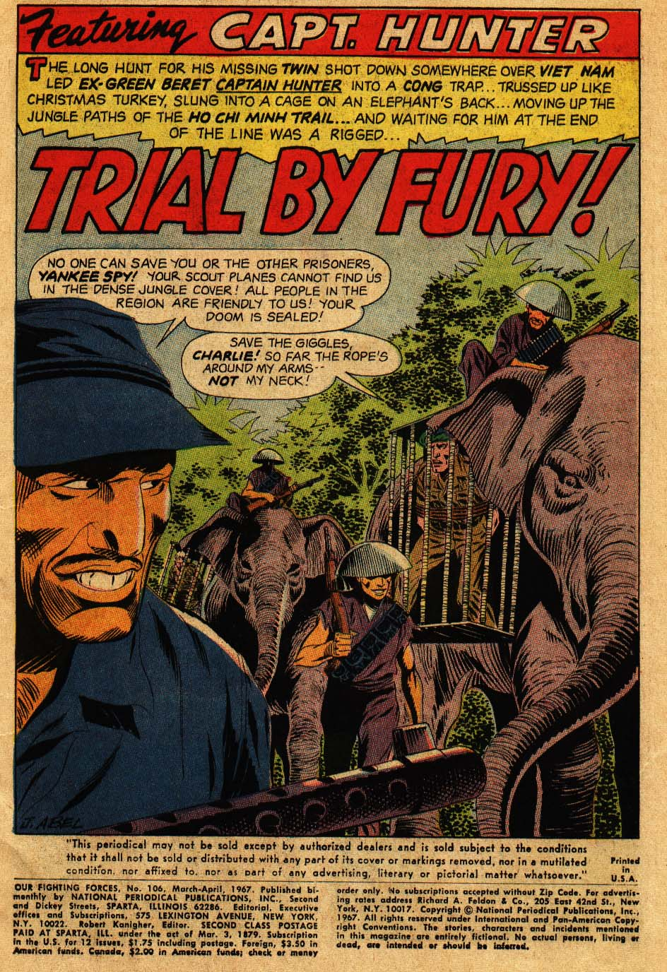 Our Fighting Forces (1954) issue 106 - Page 3