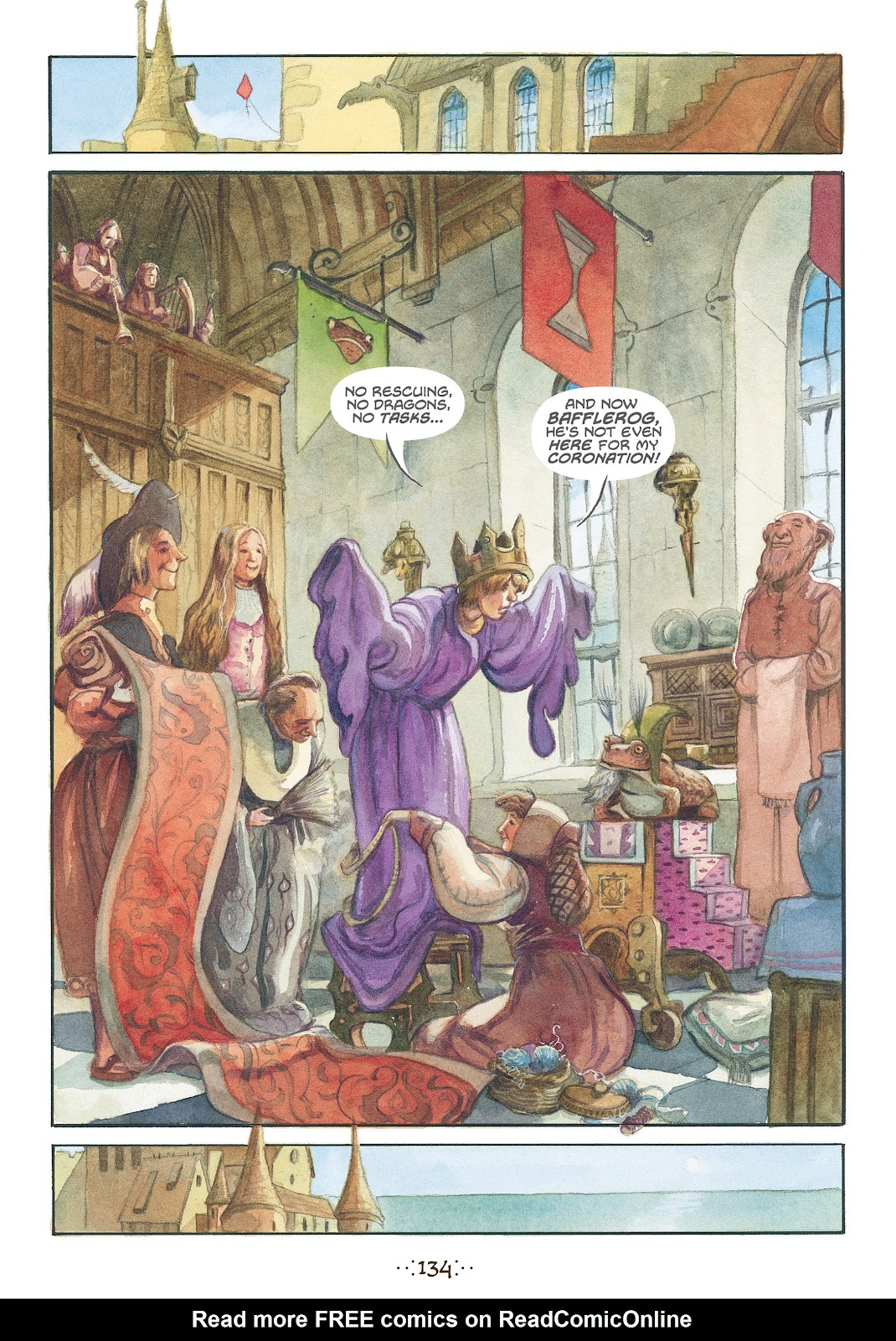 Read online The Wizard's Tale comic -  Issue # TPB - 127