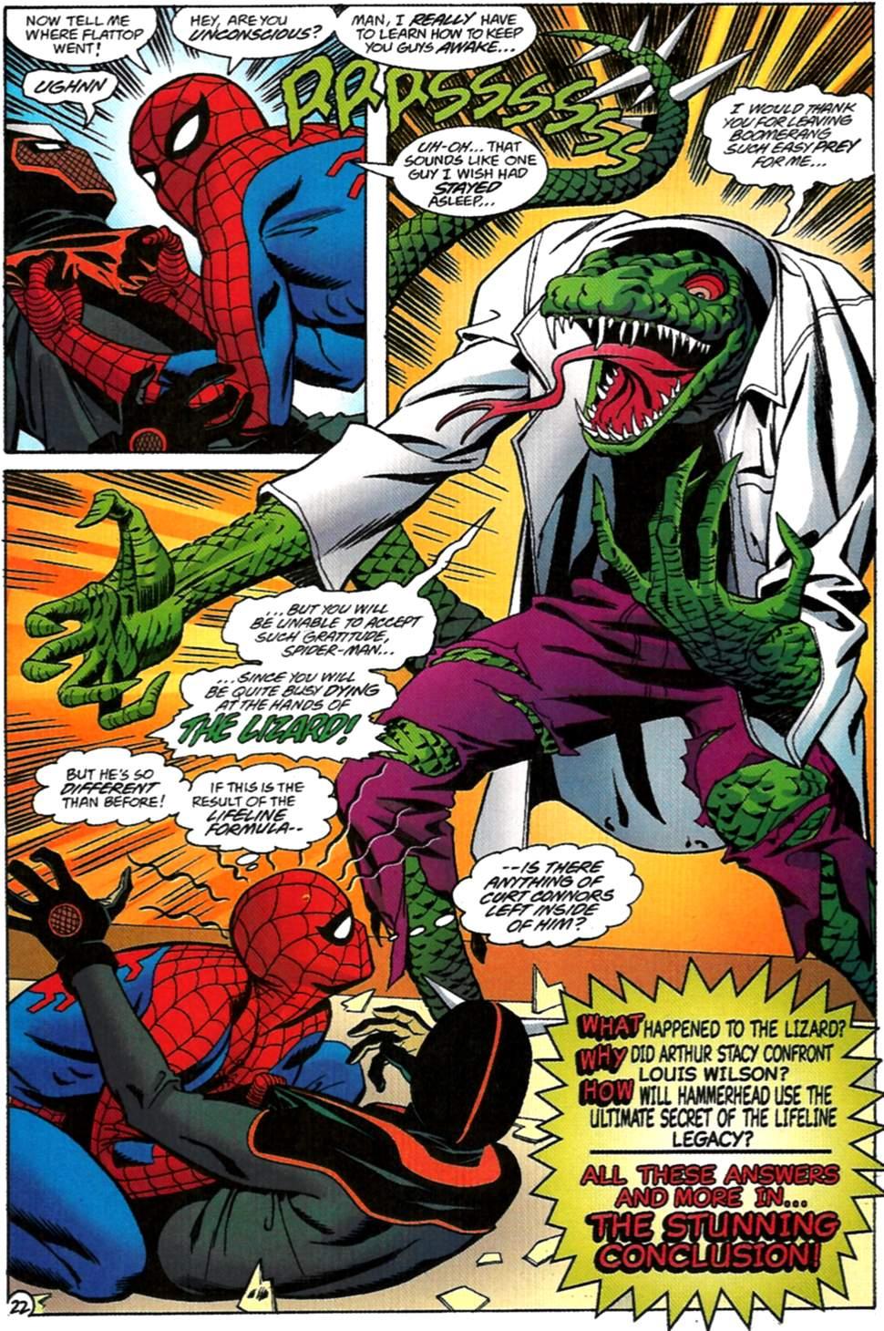 Read online Spider-Man: Lifeline comic -  Issue #2 - 23